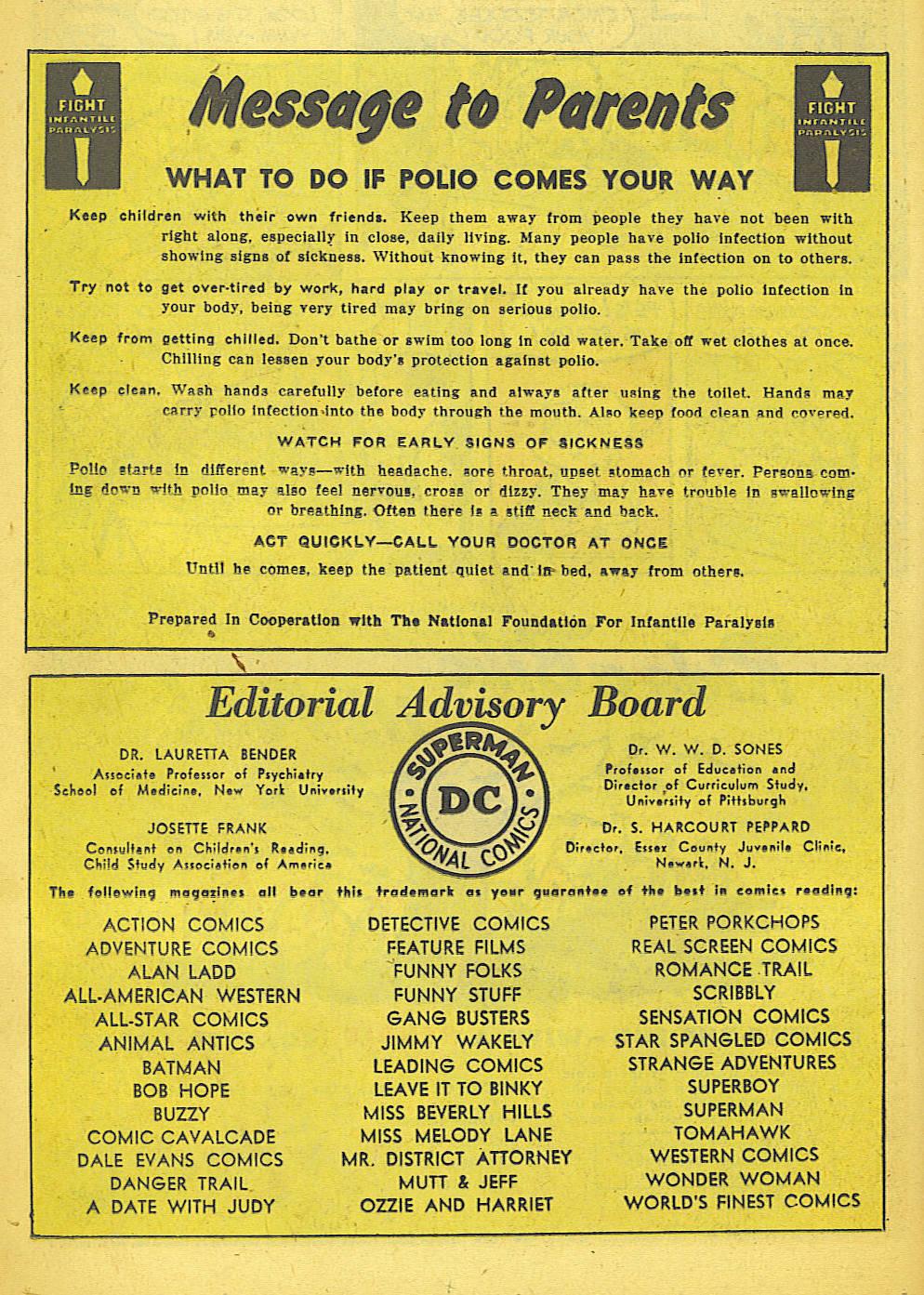 Read online Adventure Comics (1938) comic -  Issue #155 - 26