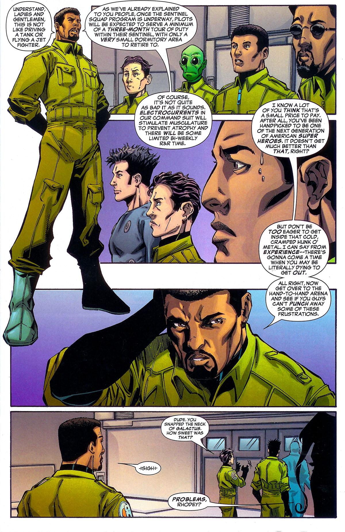 Read online Sentinel Squad O*N*E comic -  Issue #2 - 9