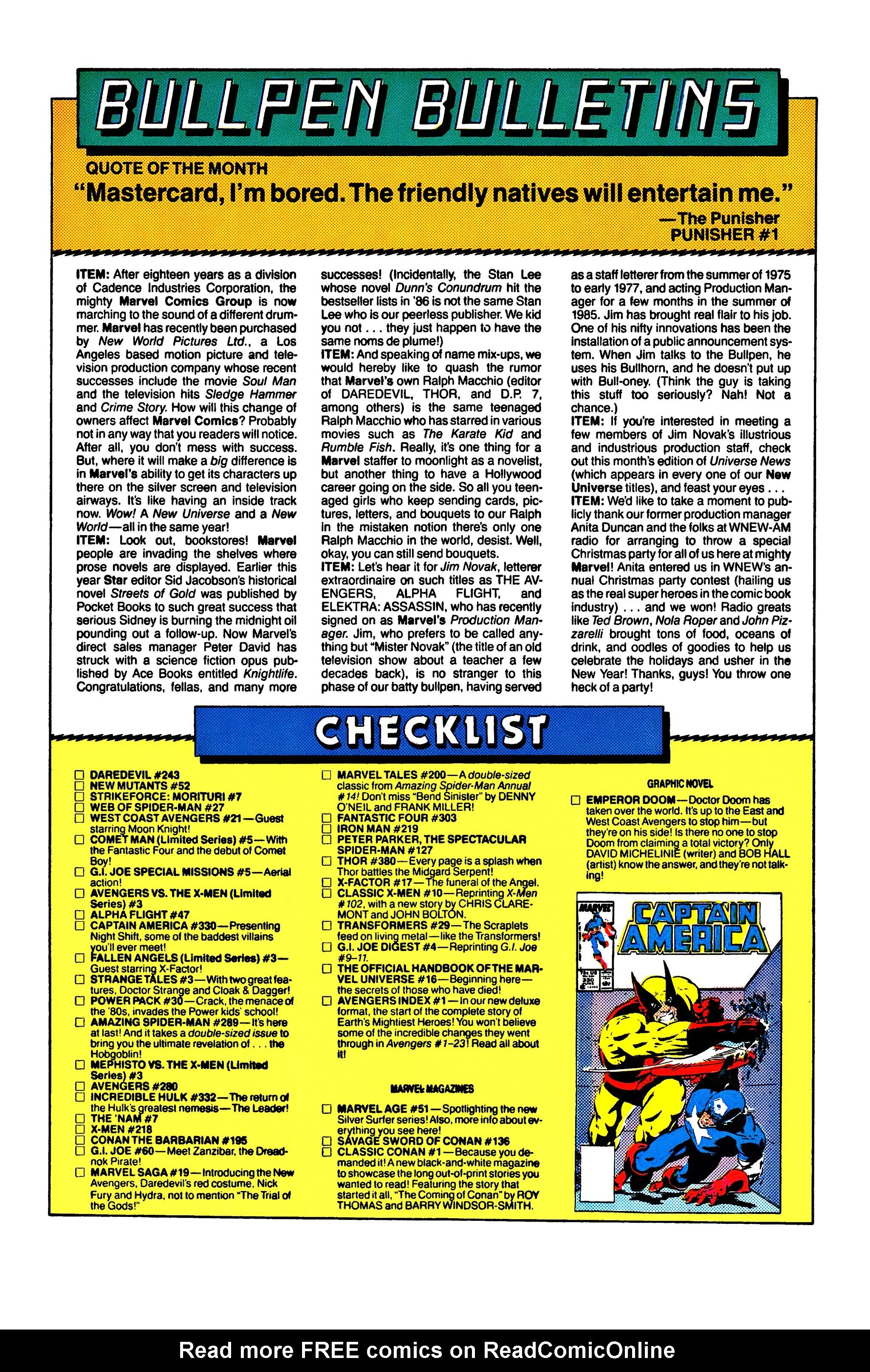 Read online Uncanny X-Men (1963) comic -  Issue #218 - 22