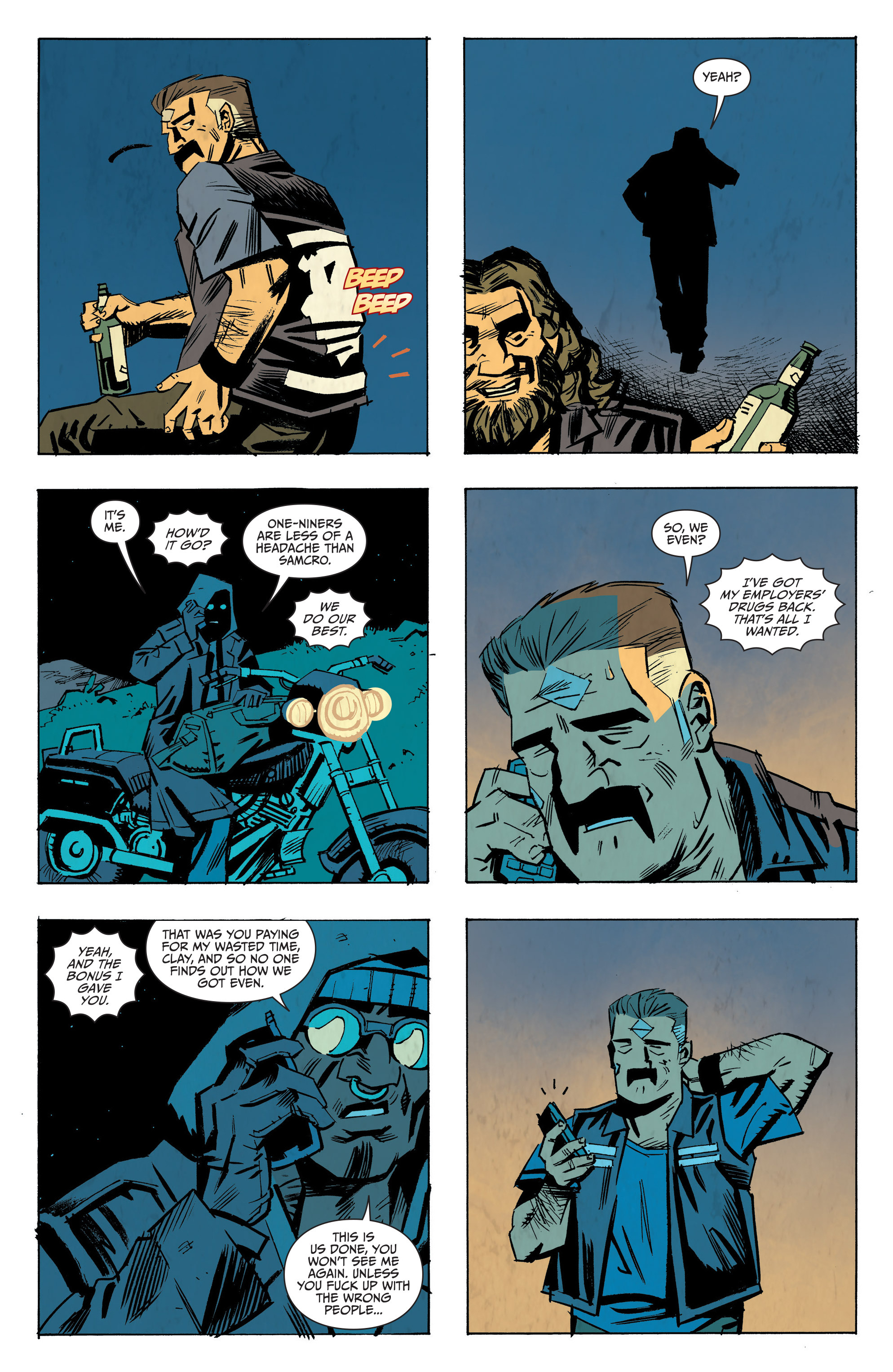Read online Sons of Anarchy: Redwood Original comic -  Issue #8 - 20