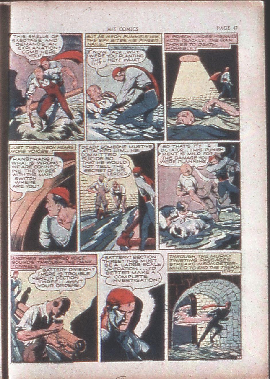 Read online Hit Comics comic -  Issue #15 - 49