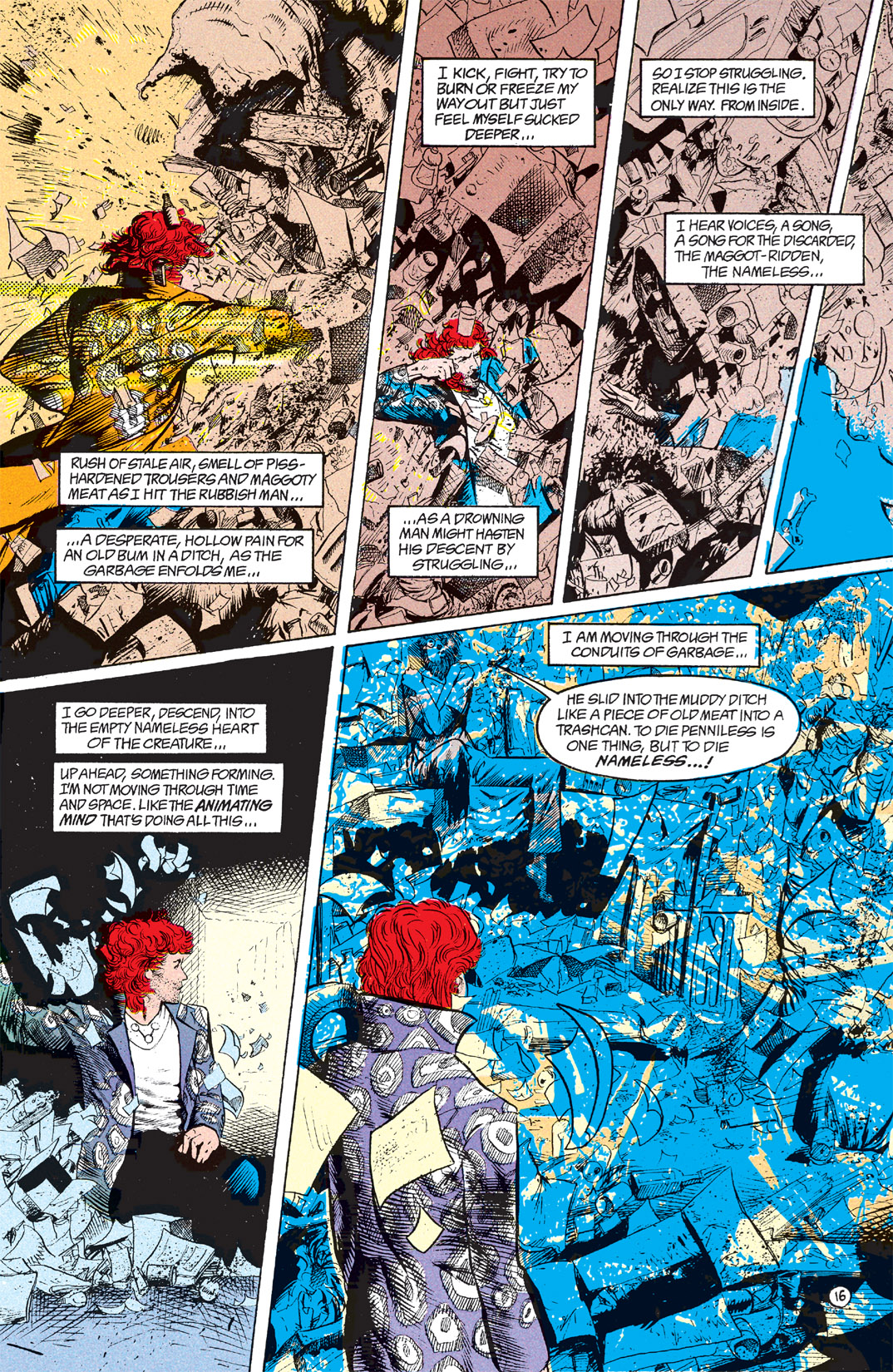 Read online Shade, the Changing Man comic -  Issue #7 - 17
