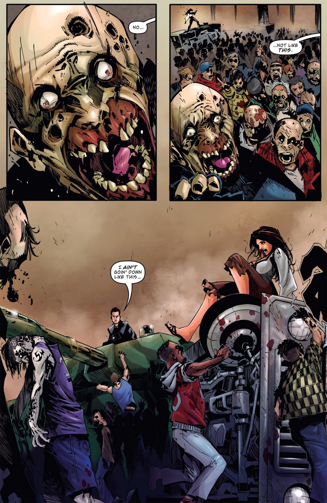 Read online Dead Rising: Road to Fortune comic -  Issue #1 - 4