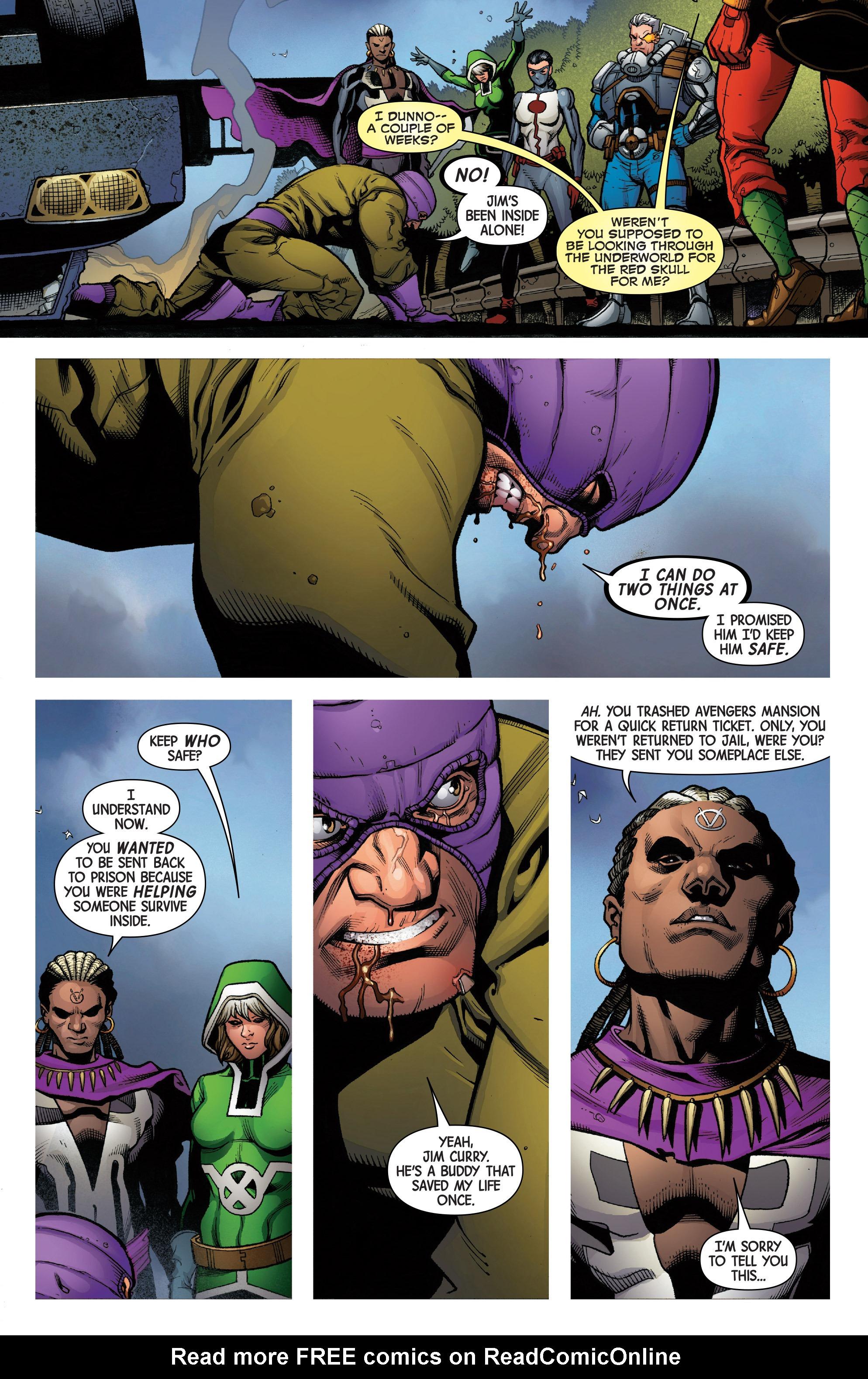 Read online Uncanny Avengers [II] comic -  Issue #7 - 13