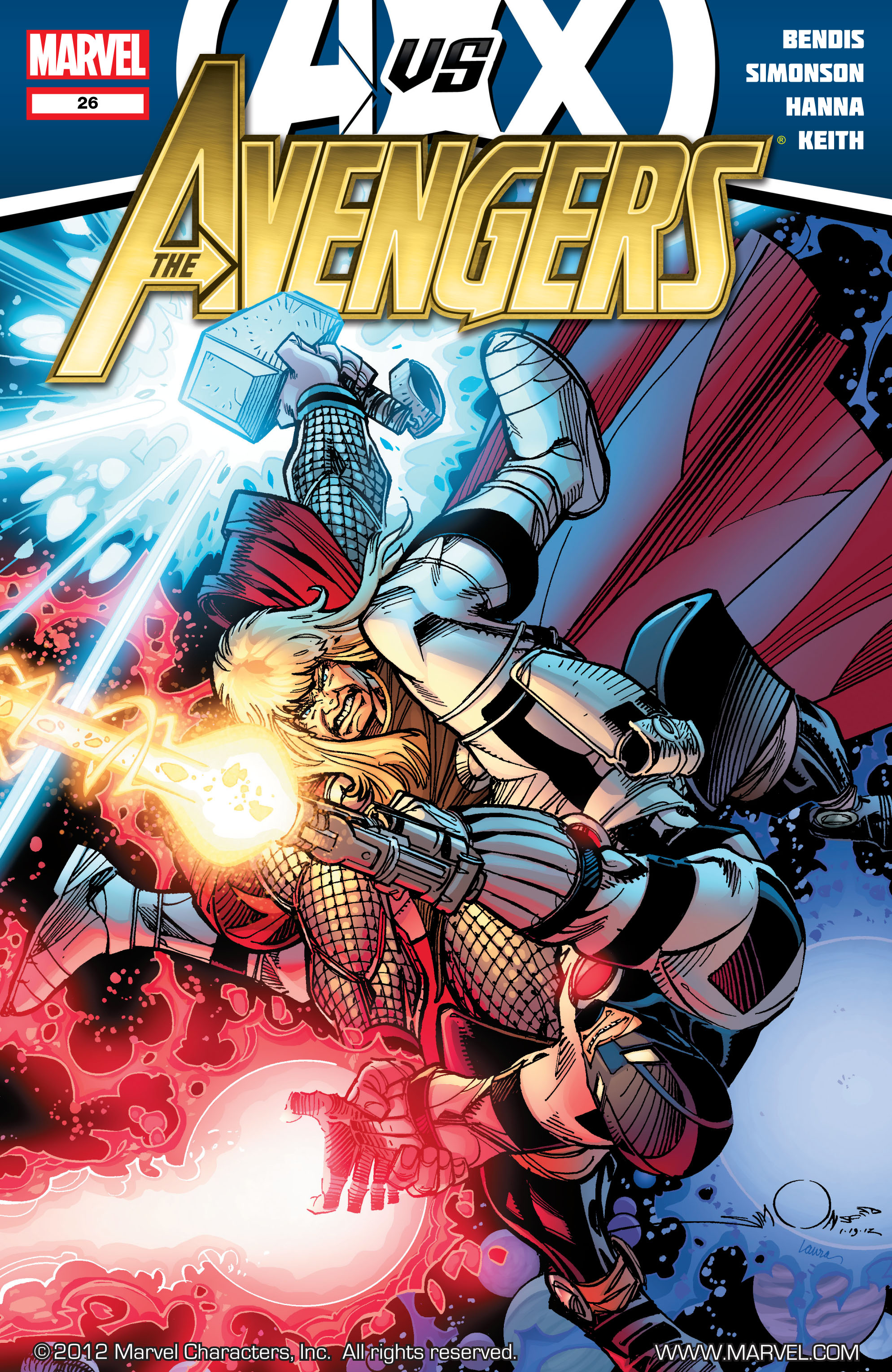 Read online Avengers (2010) comic -  Issue #26 - 1