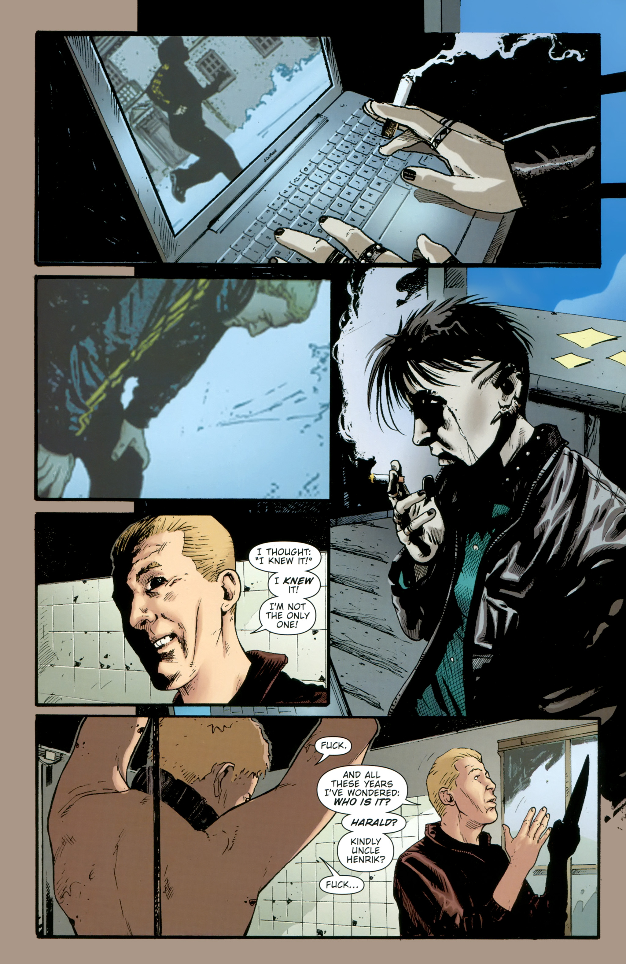 Read online The Girl With the Dragon Tattoo comic -  Issue # TPB 2 - 96