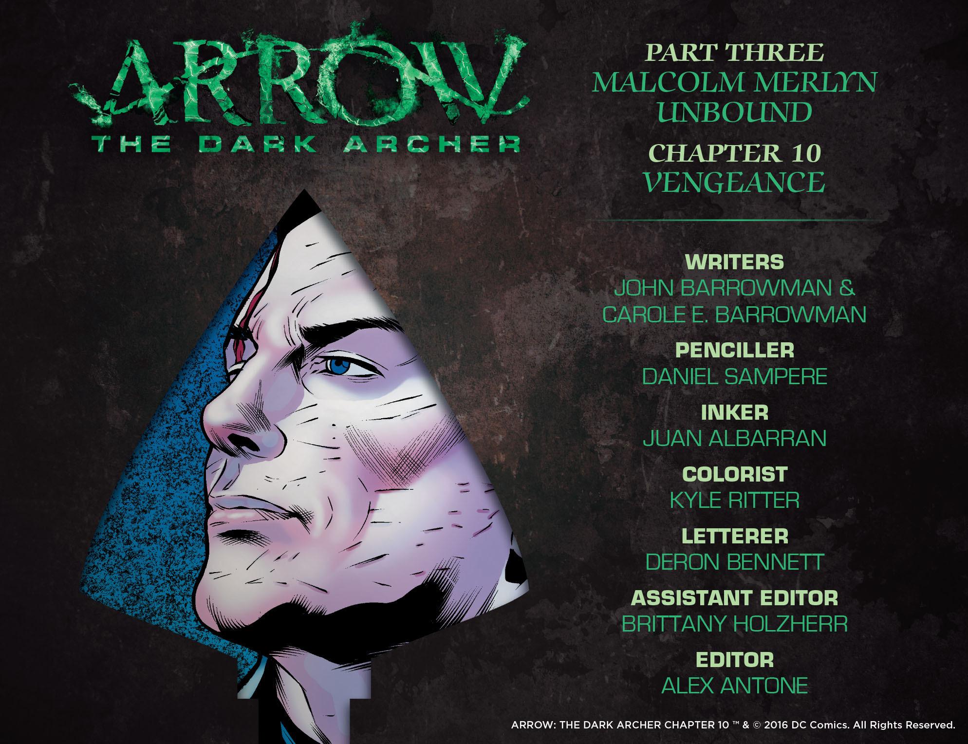 Read online Arrow: The Dark Archer comic -  Issue #10 - 2