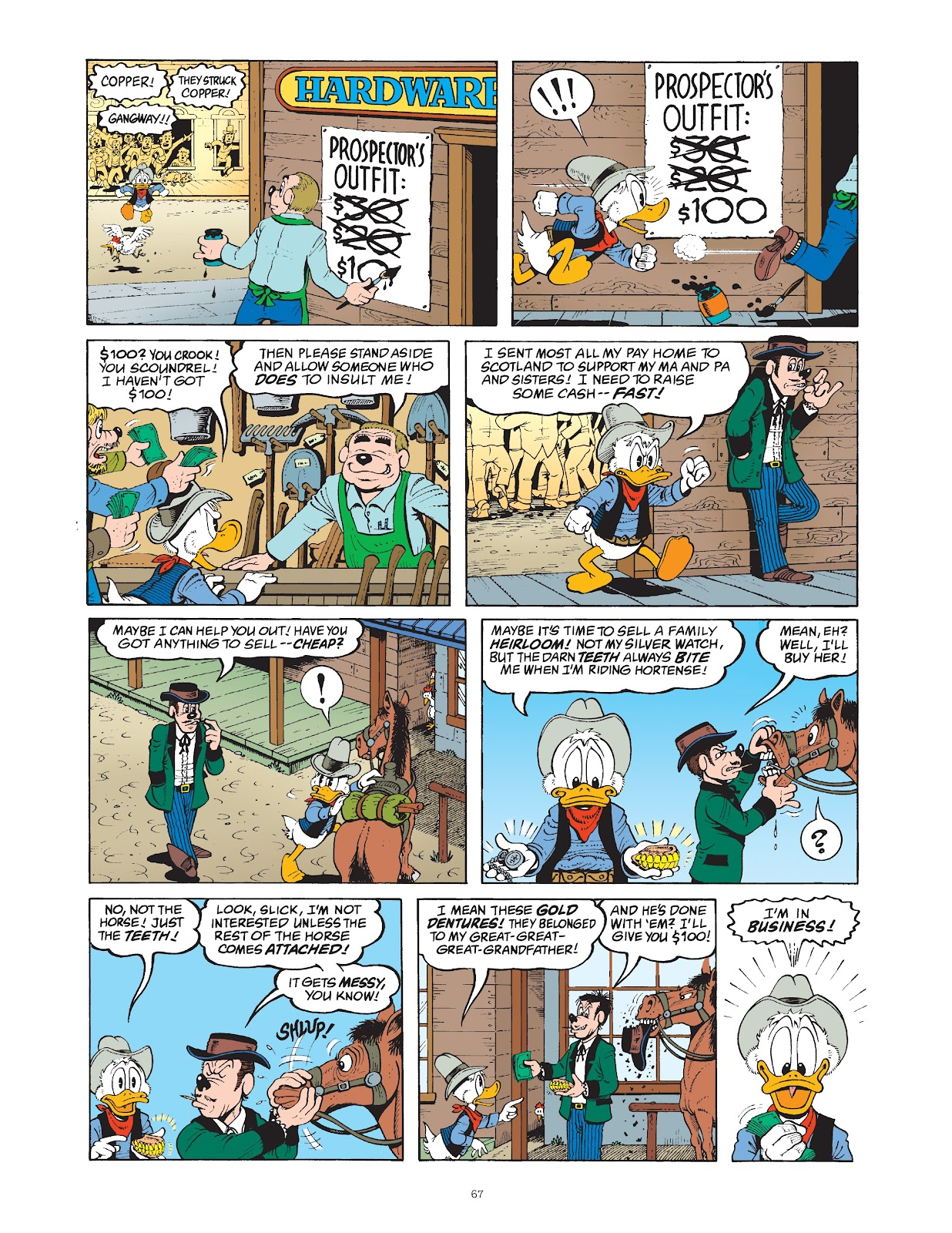 Read online The Complete Life and Times of Scrooge McDuck comic -  Issue # TPB 1 (Part 1) - 71
