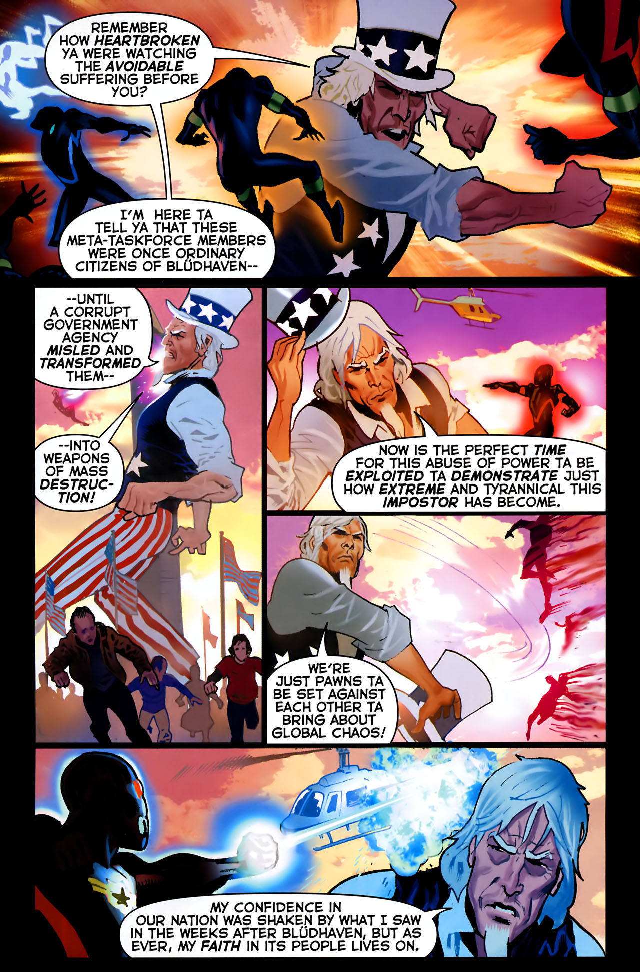 Read online Uncle Sam and the Freedom Fighters (2006) comic -  Issue #8 - 4