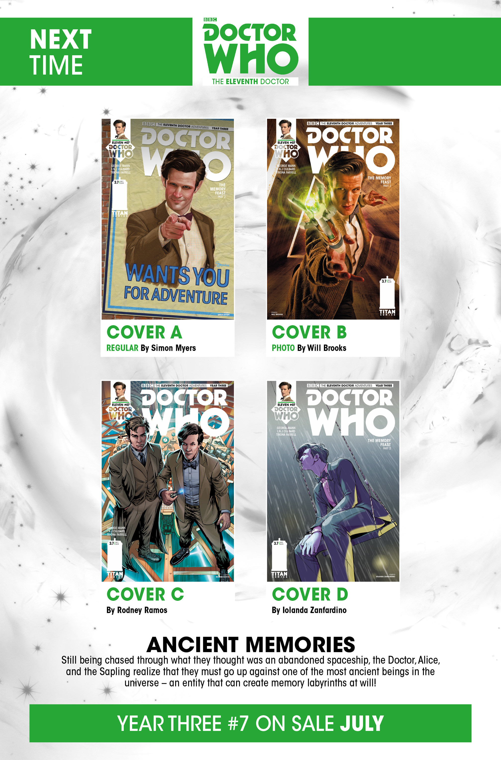 Read online Doctor Who: The Eleventh Doctor Year Three comic -  Issue #6 - 27
