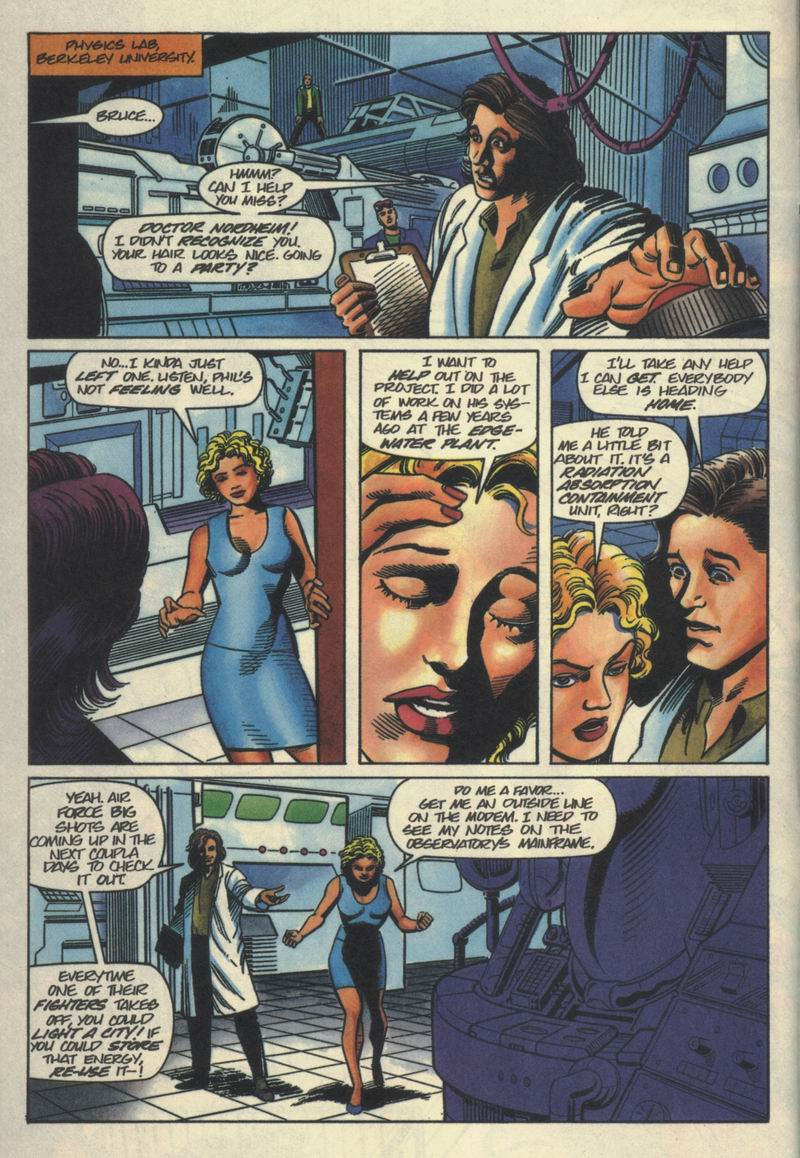 Read online Solar, Man of the Atom comic -  Issue #40 - 8