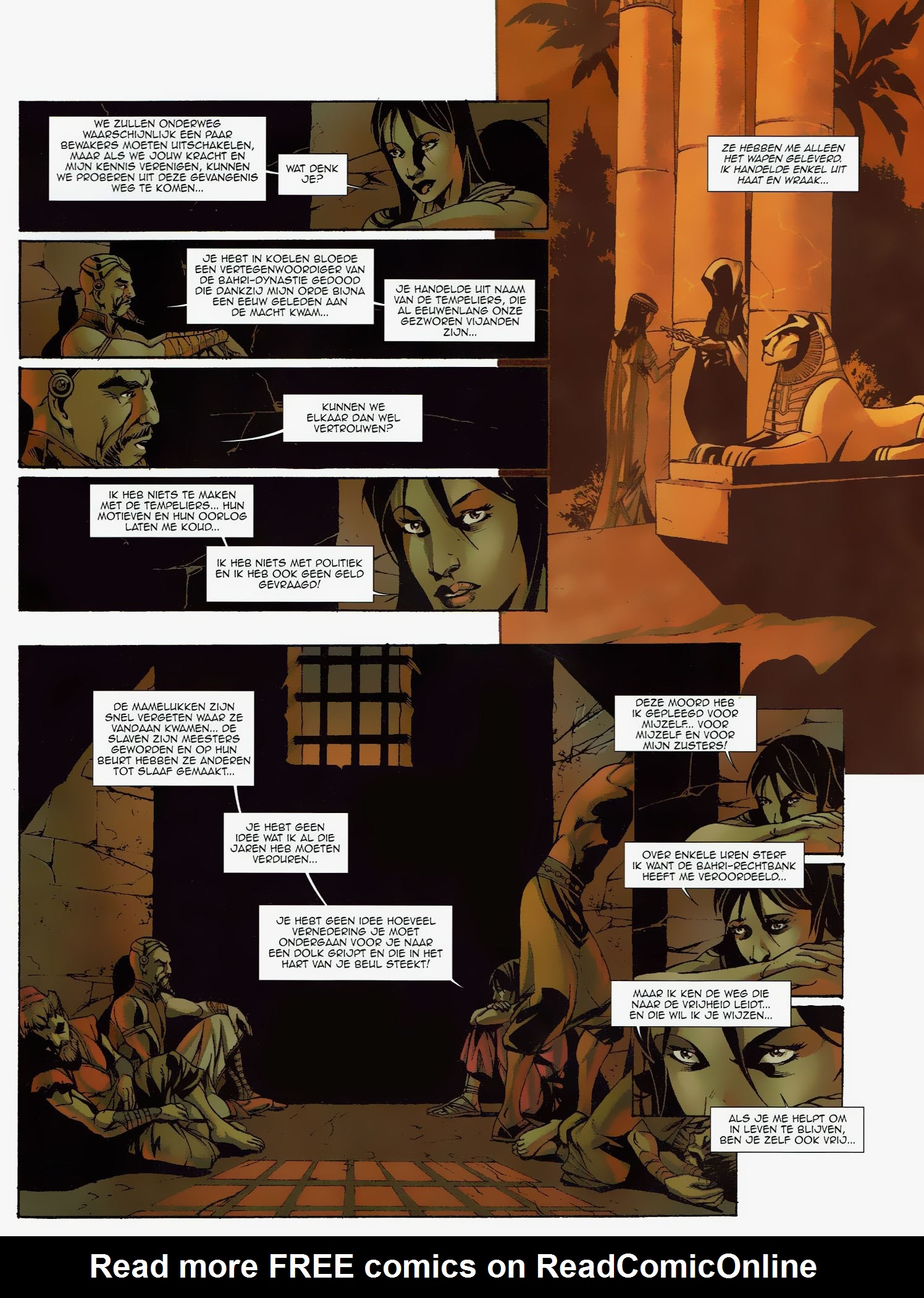 Read online Assassin's Creed (2009) comic -  Issue #6 - 11
