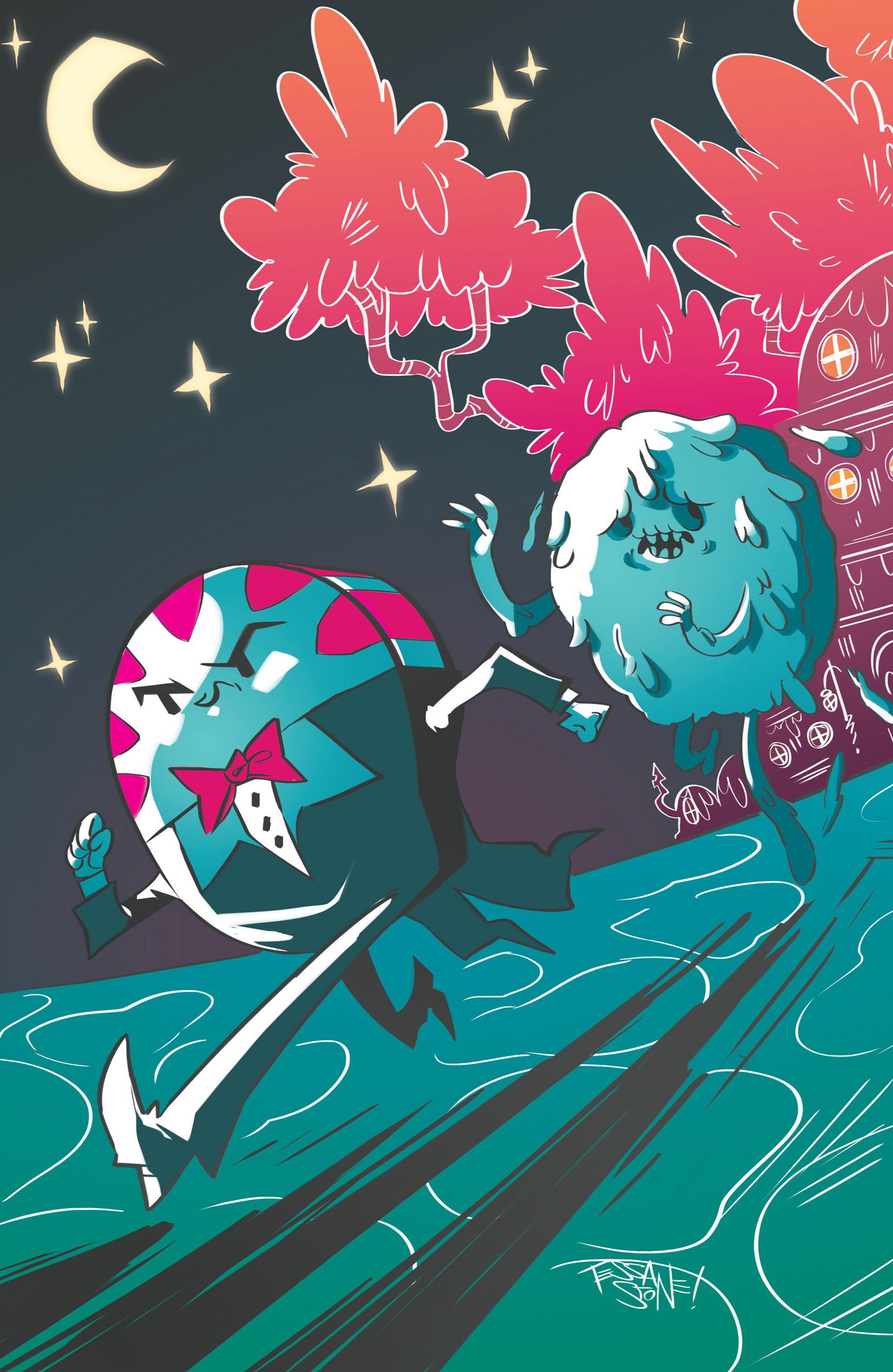 Read online Adventure Time: Candy Capers comic -  Issue #1 - 4