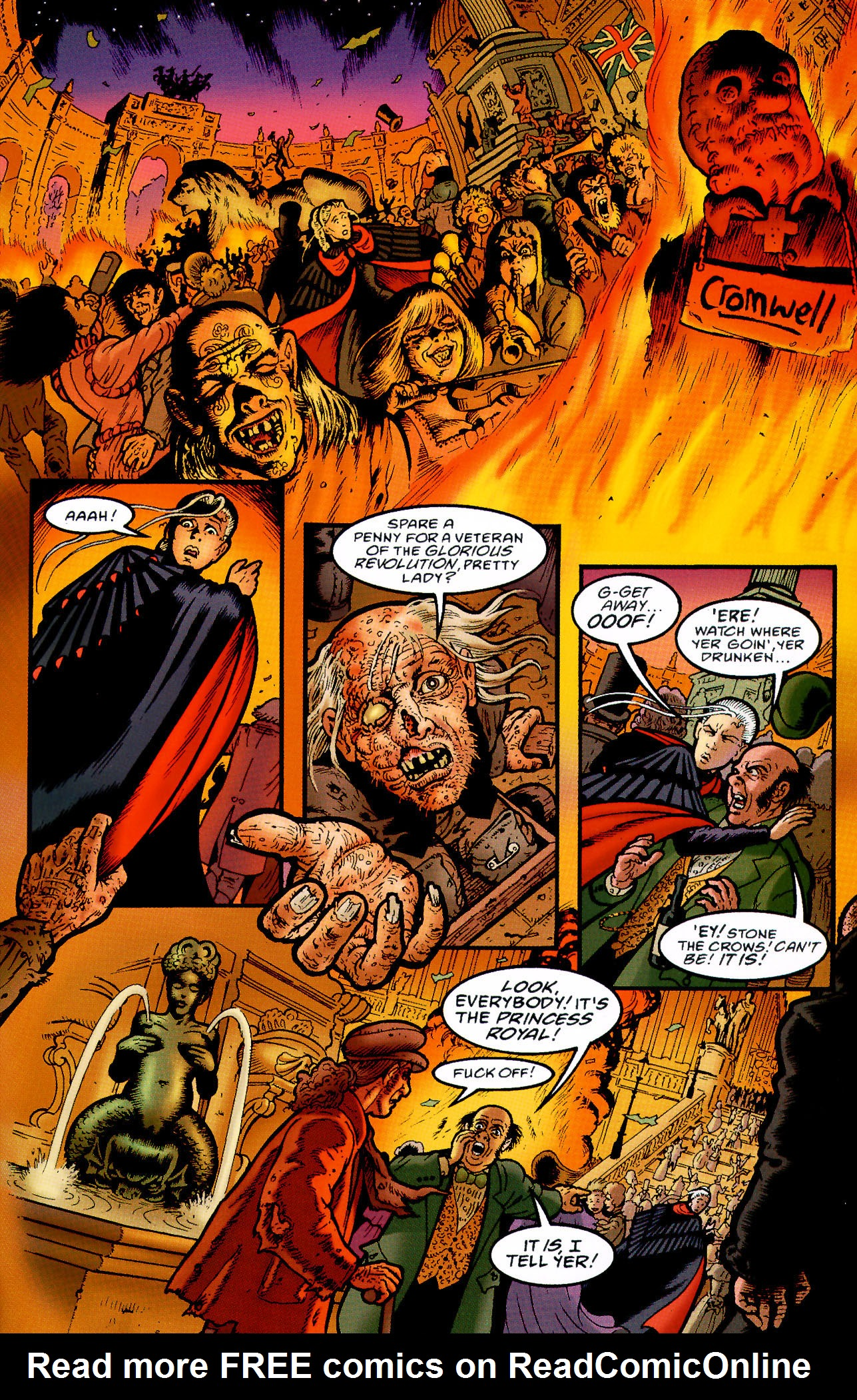 Read online Heart of Empire comic -  Issue #5 - 33