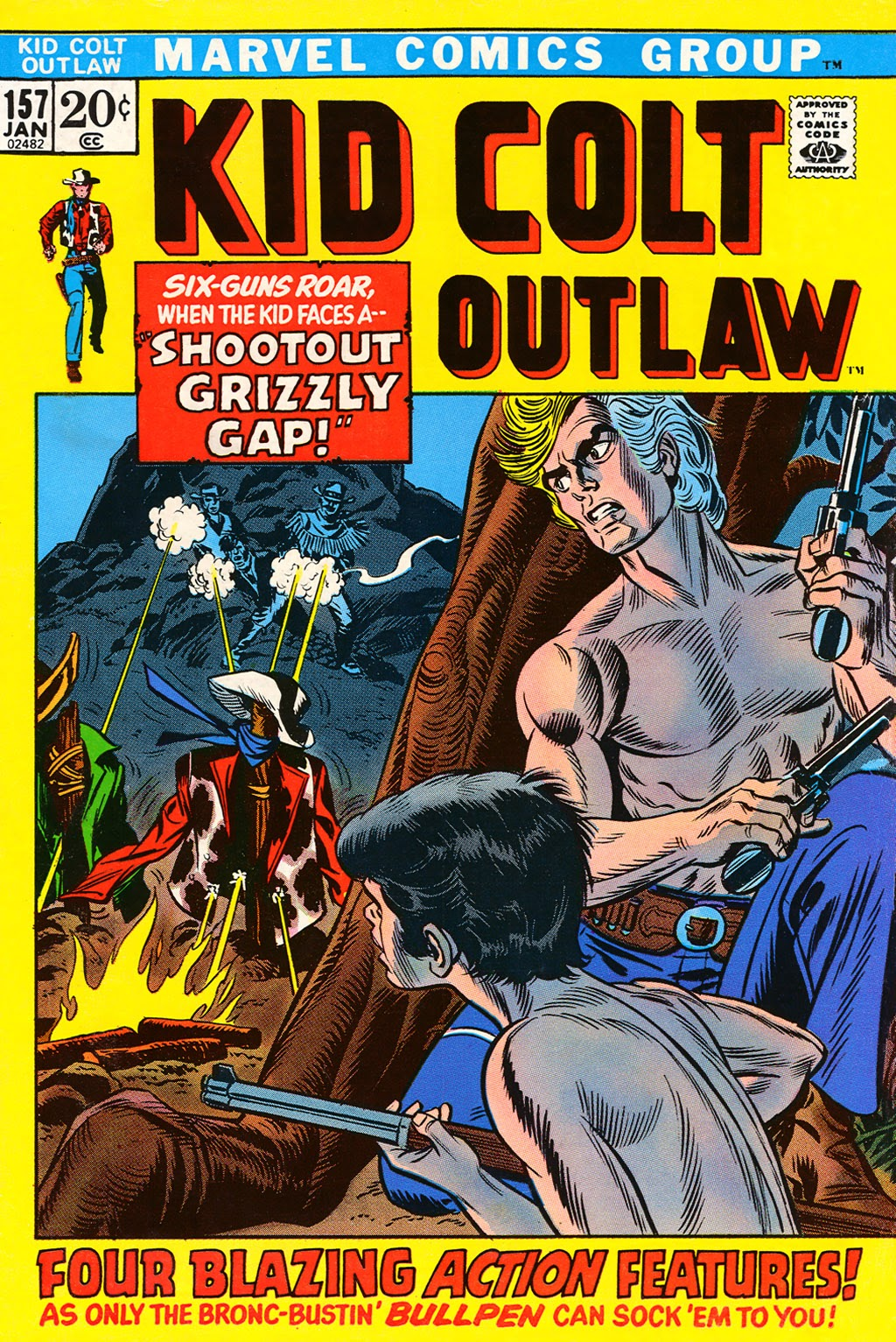 Kid Colt Outlaw issue 157 - Page 1
