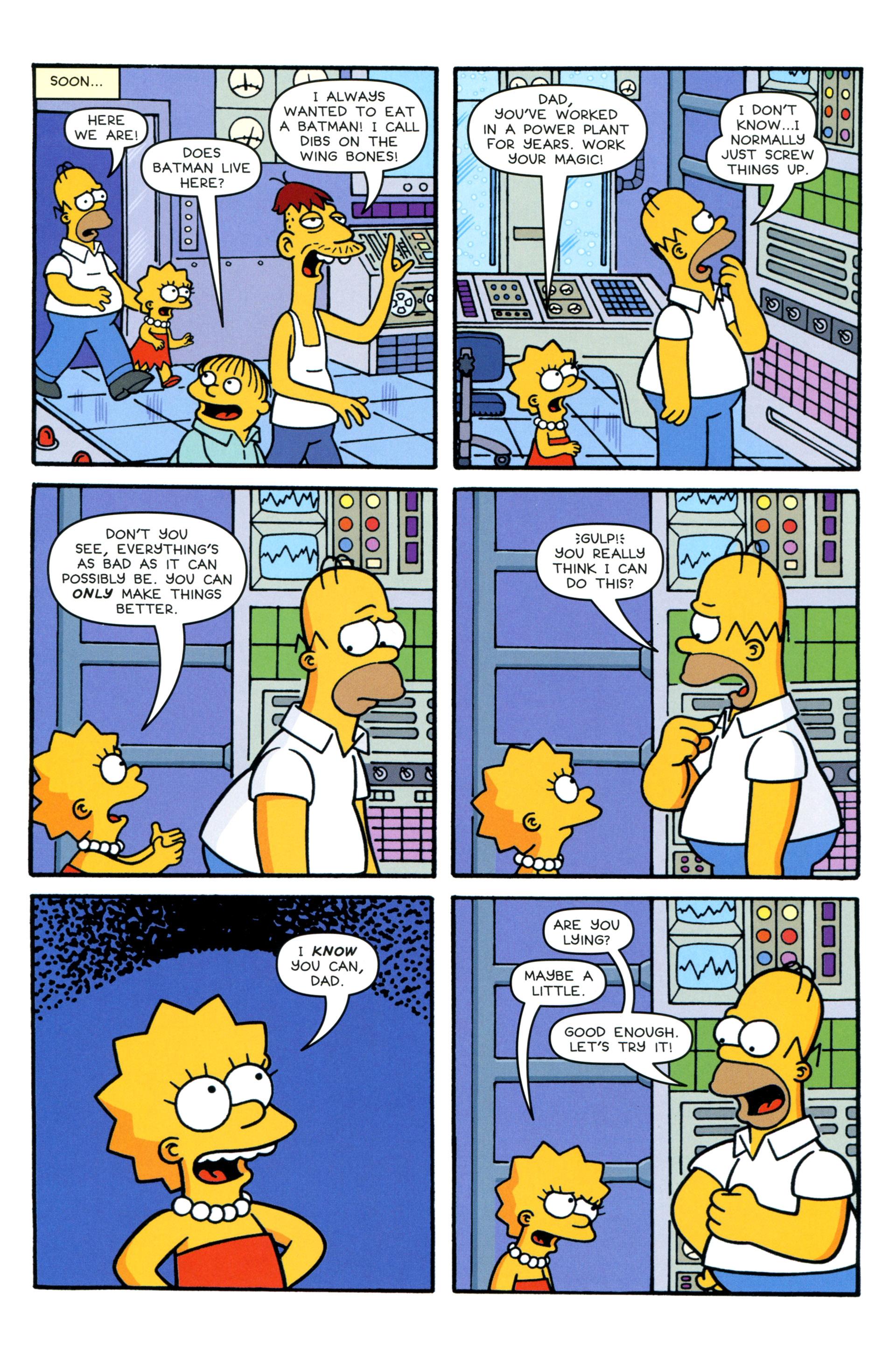 Read online Simpsons Comics comic -  Issue #206 - 20