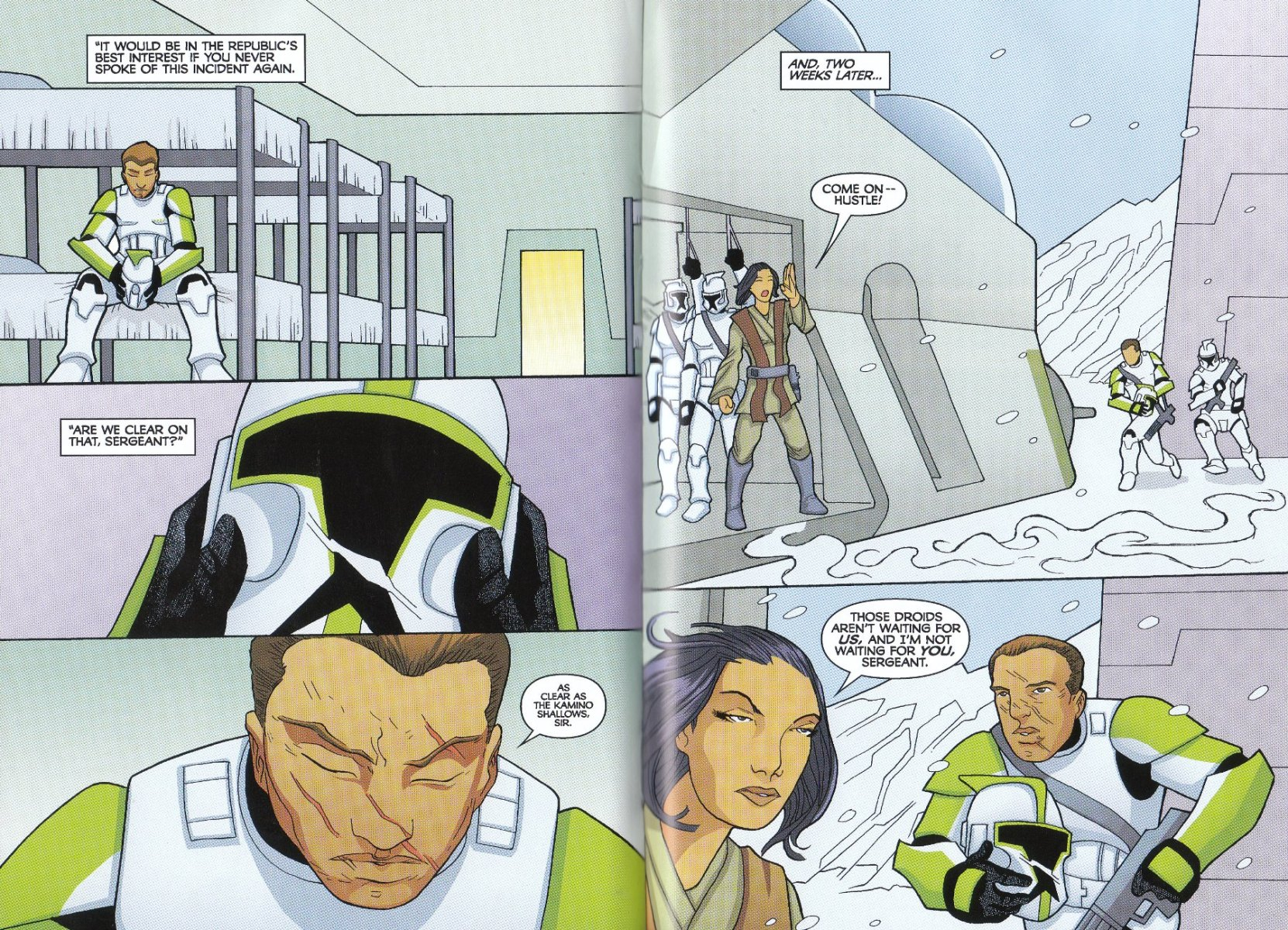 Read online Star Wars: The Clone Wars - The Enemy Within comic -  Issue # Full - 39