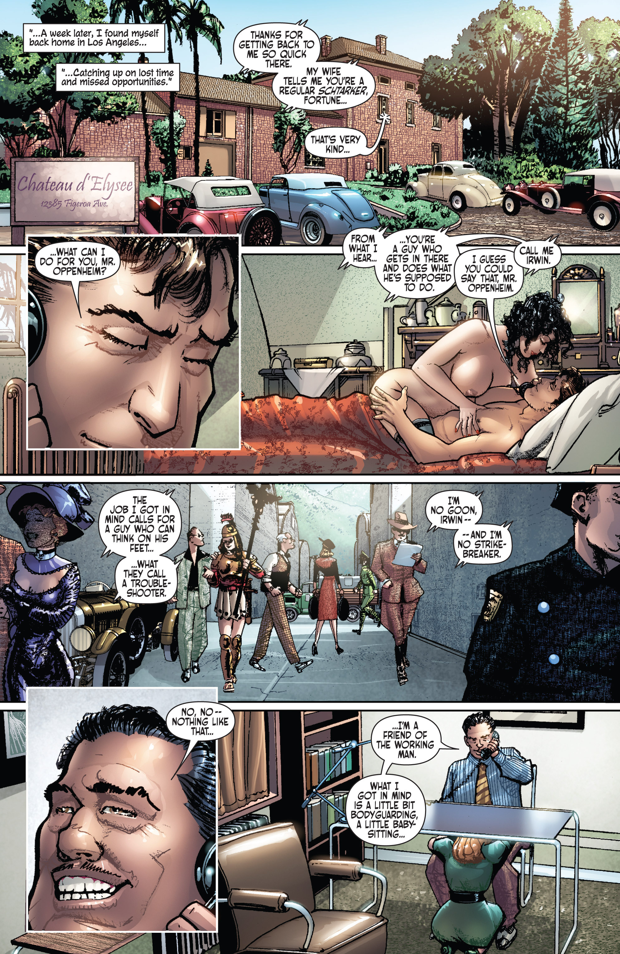 Read online Dominic Fortune comic -  Issue #1 - 10