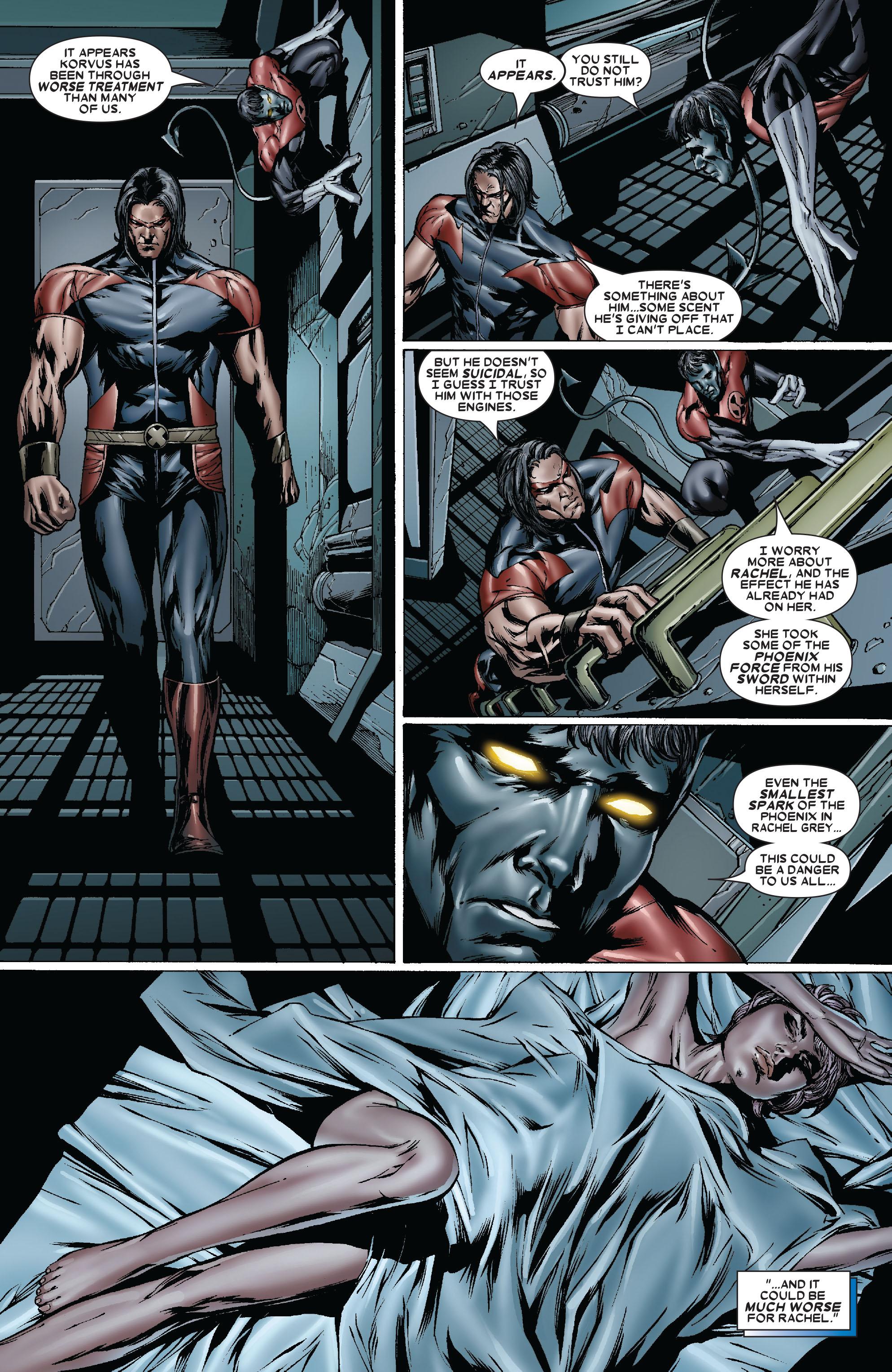 Read online Uncanny X-Men (1963) comic -  Issue #481 - 14