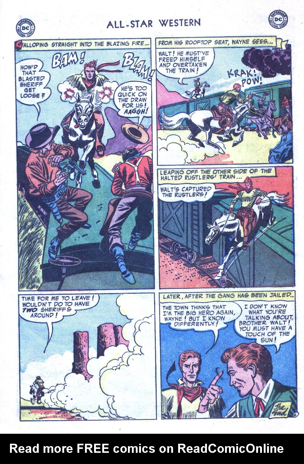 Read online All-Star Western (1951) comic -  Issue #77 - 8