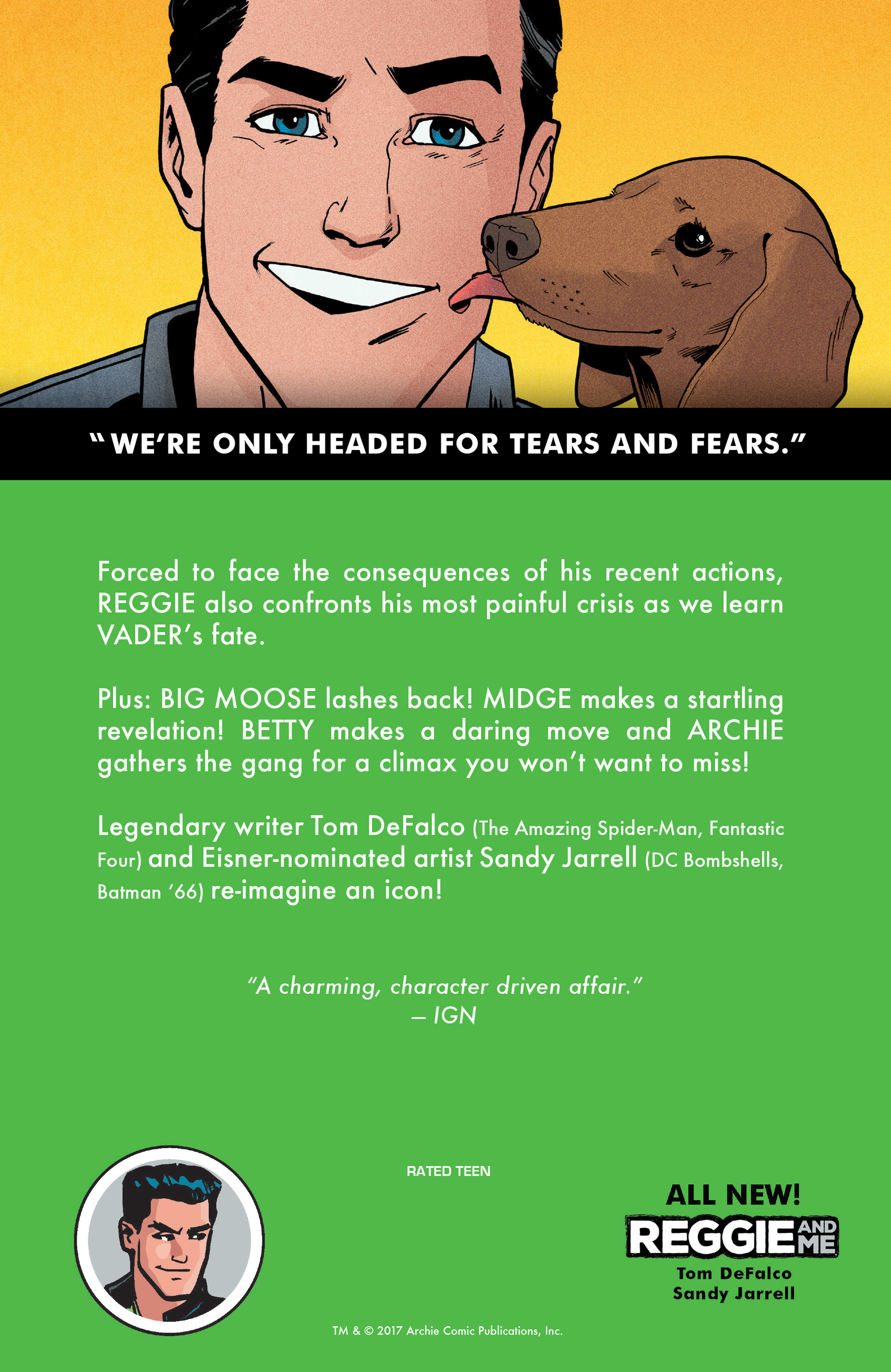 Read online Reggie and Me comic -  Issue #5 - 31