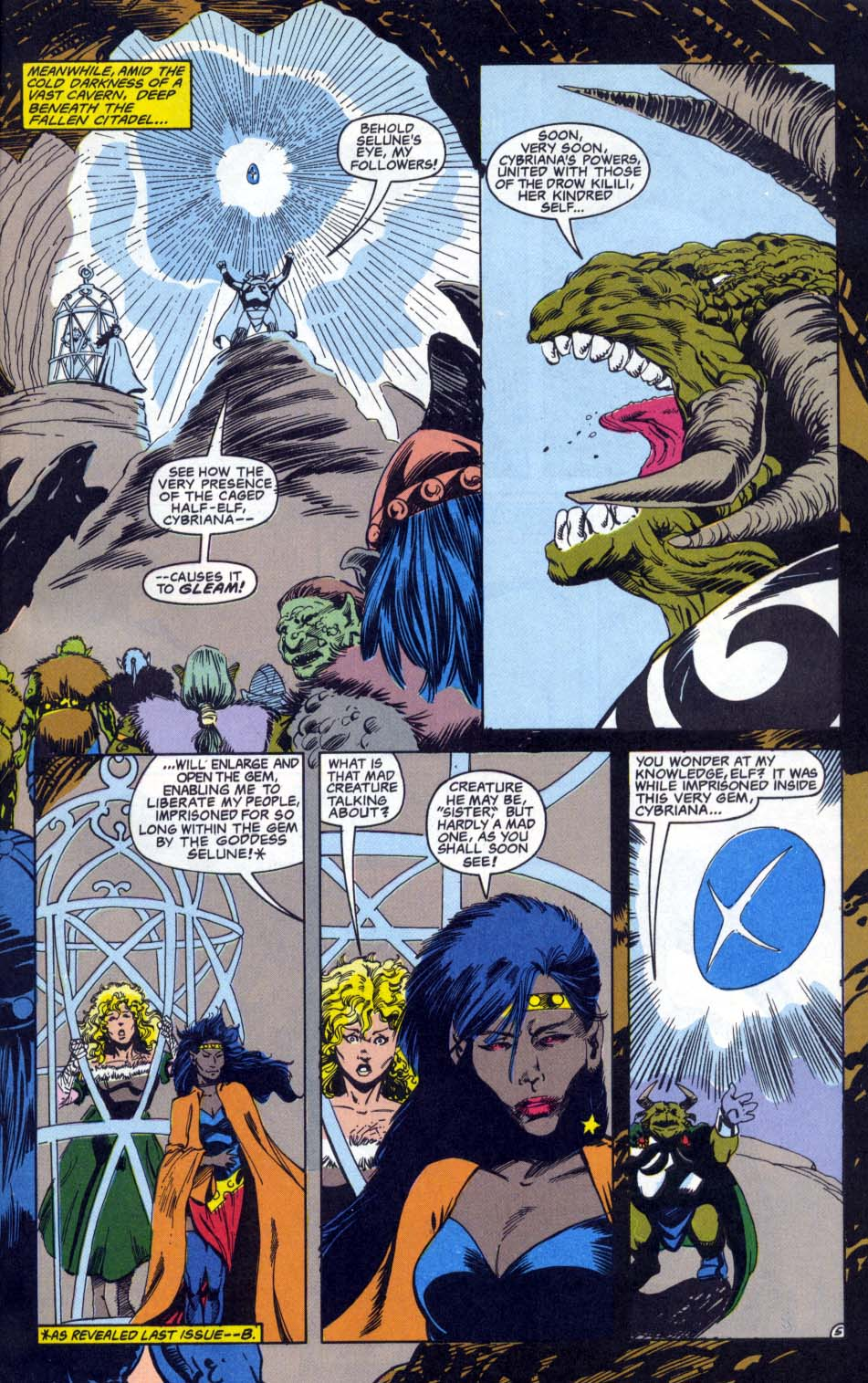 Read online Advanced Dungeons & Dragons comic -  Issue #4 - 5