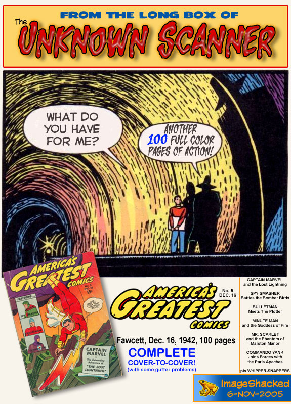 Read online America's Greatest Comics comic -  Issue #5 - 99