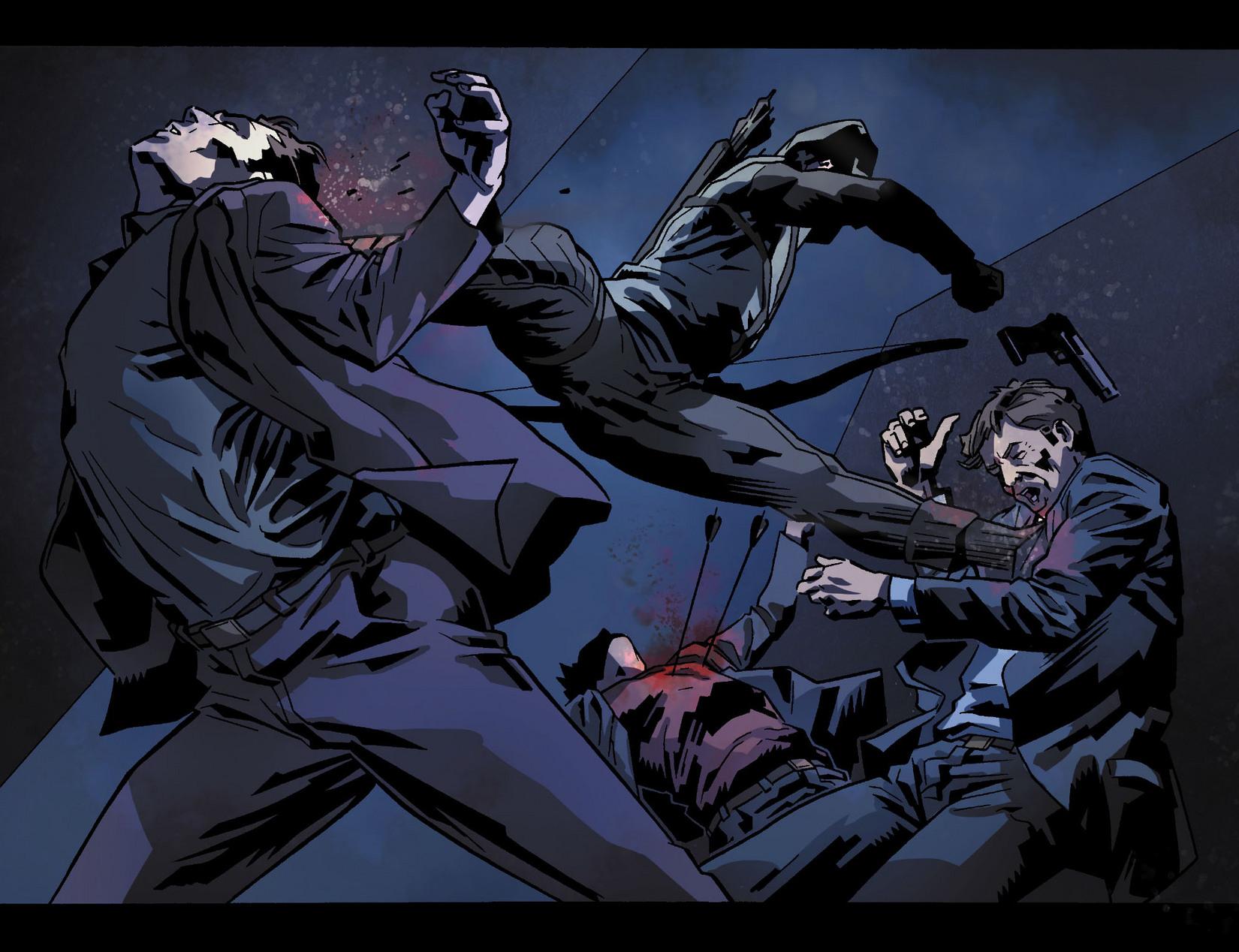 Read online Arrow [II] comic -  Issue #8 - 16