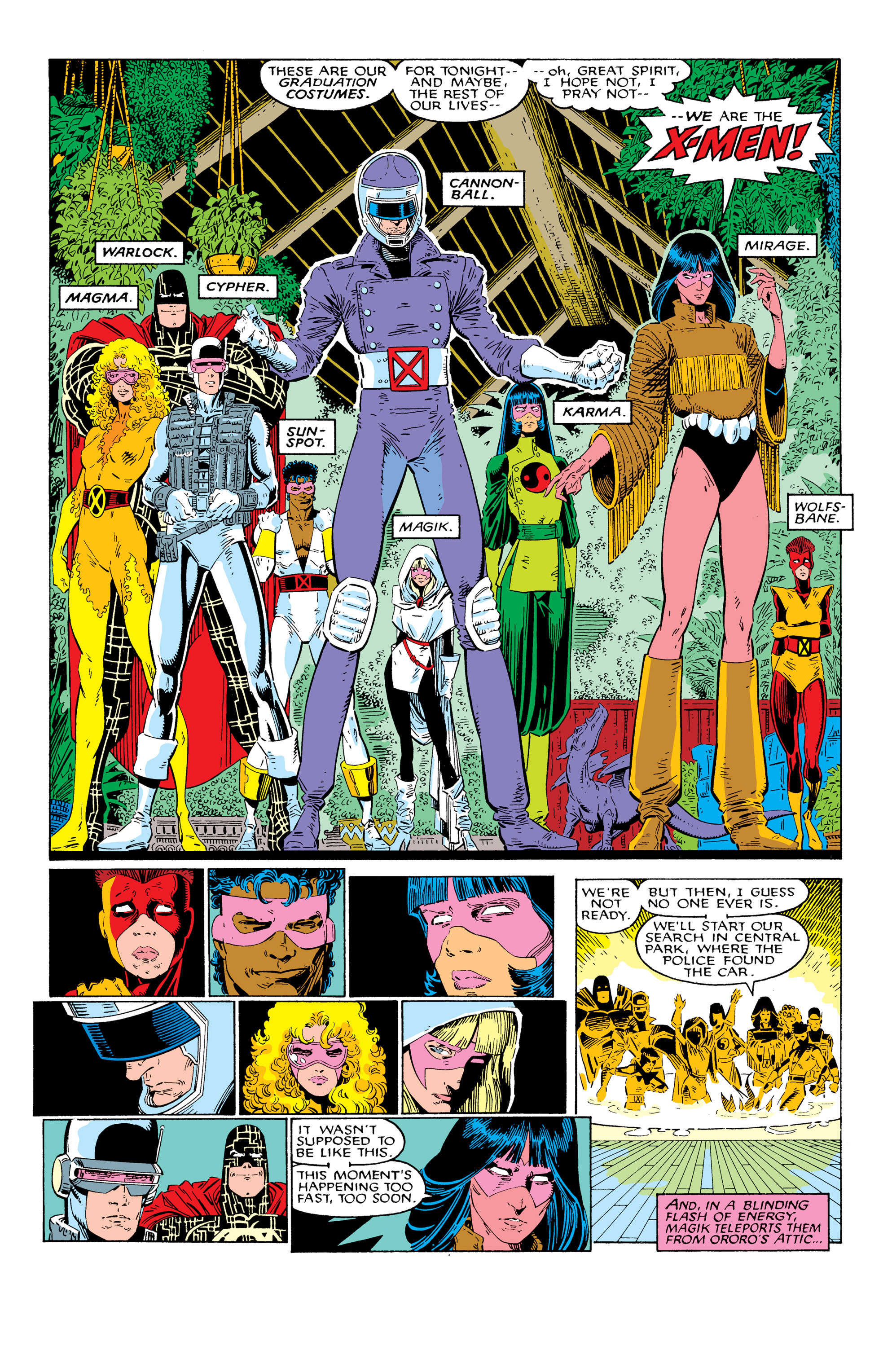 Read online Uncanny X-Men (1963) comic -  Issue # _Annual 10 - 21