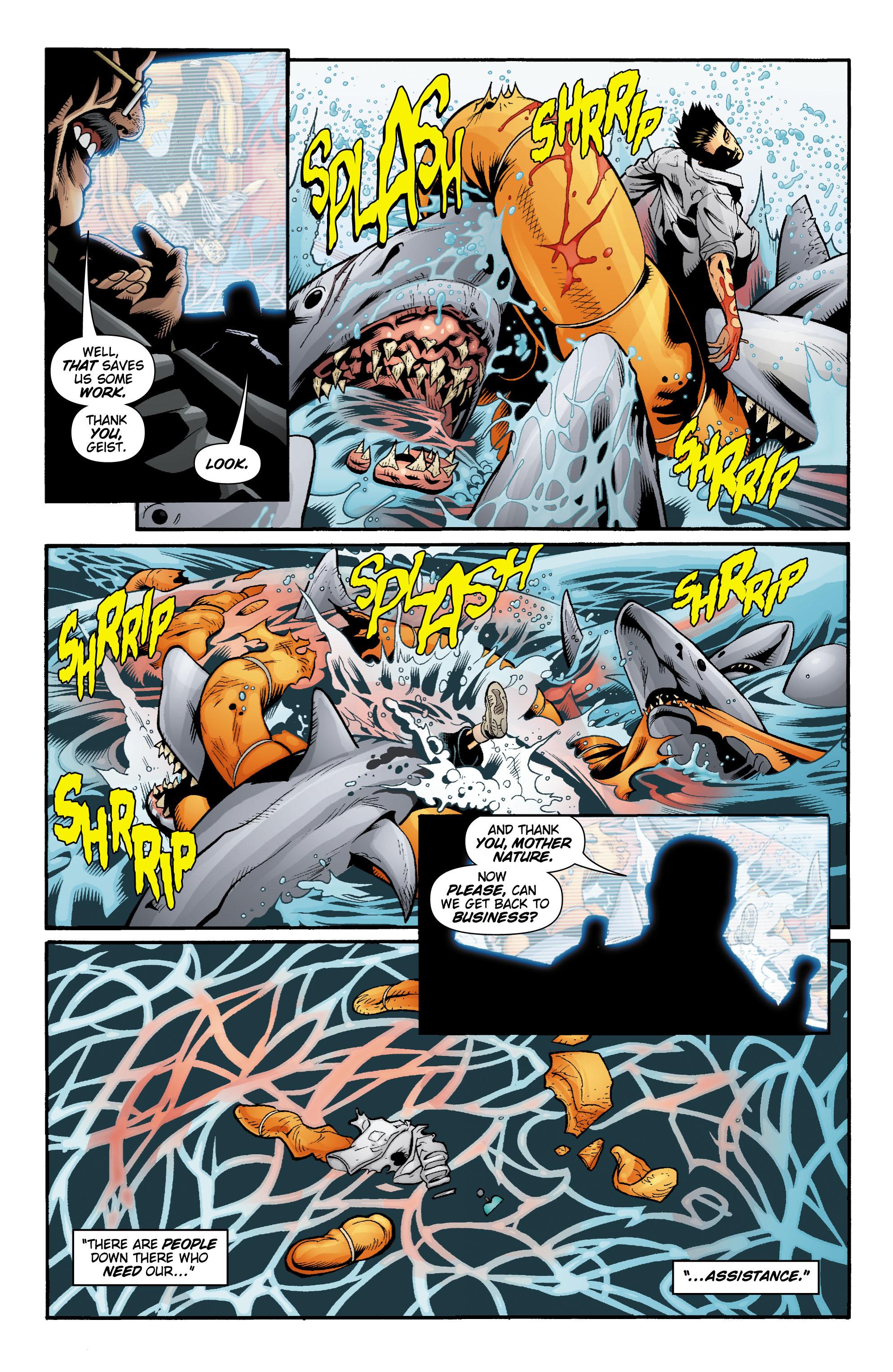 Read online Aquaman (2003) comic -  Issue #20 - 15
