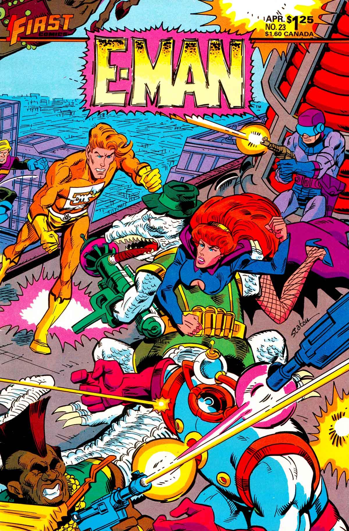 E-Man (1983) 23 Page 1