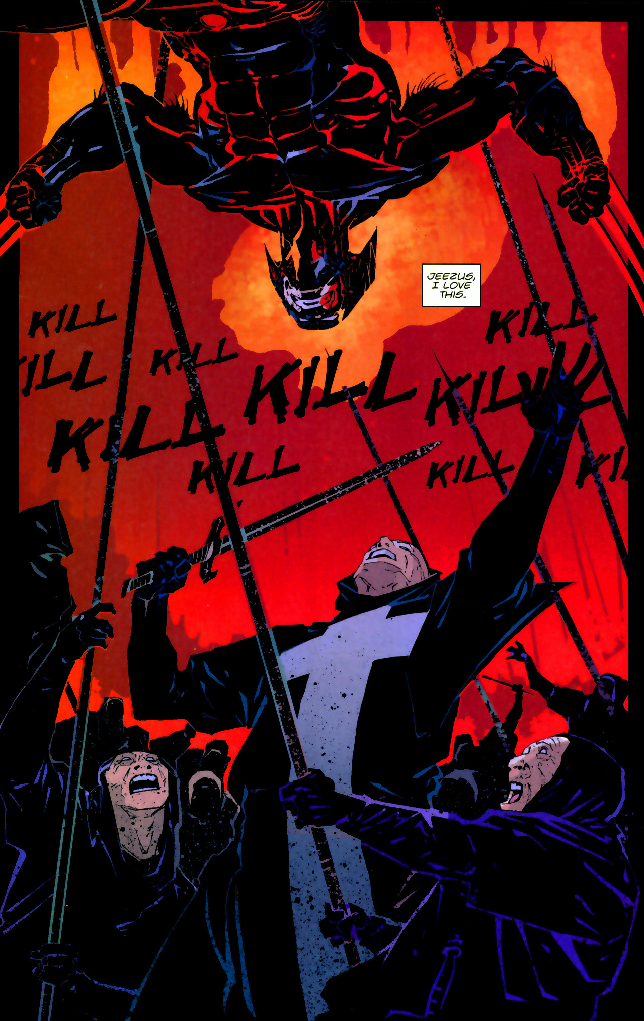 Read online X-Force Special: Ain't No Dog comic -  Issue # Full - 15