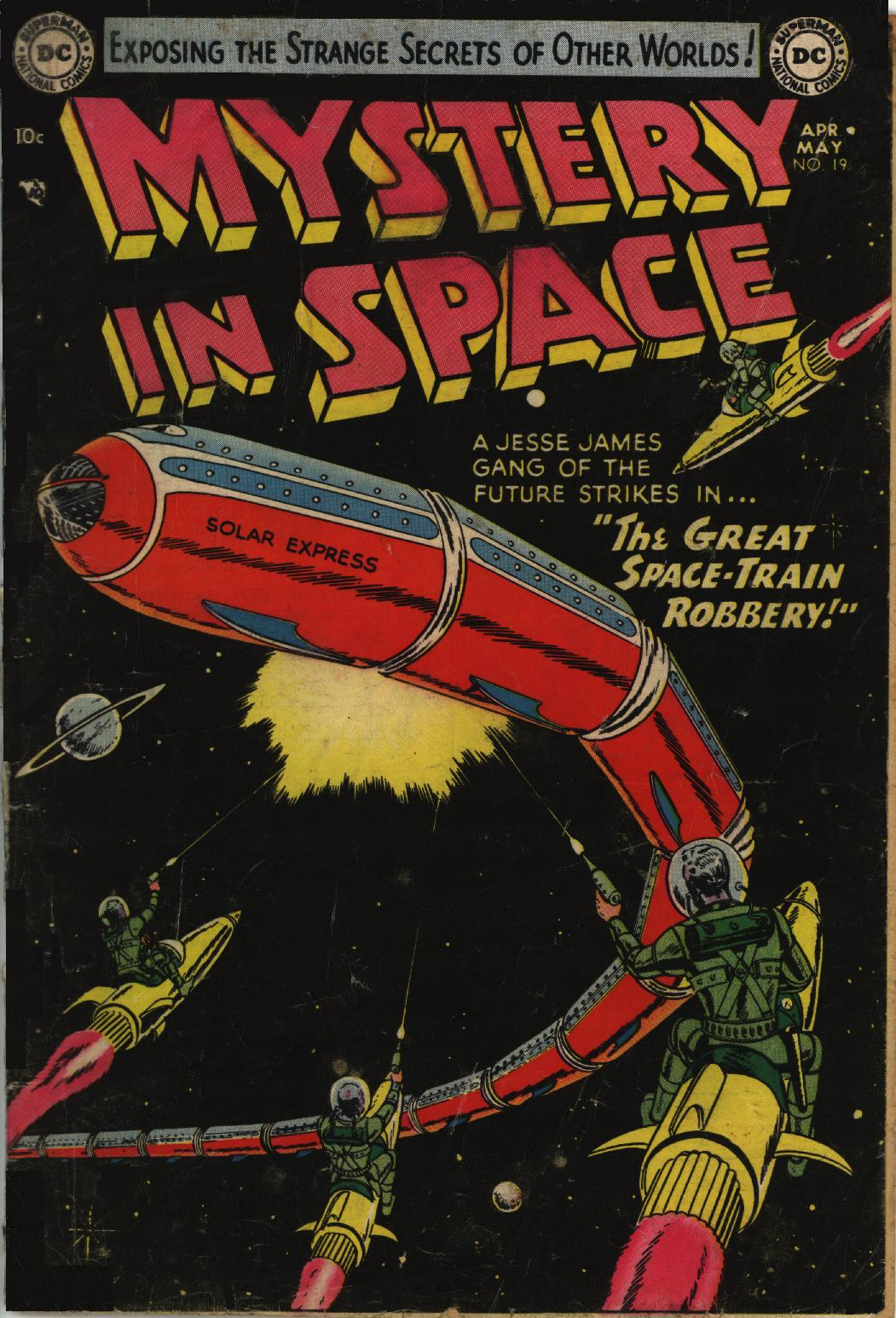 Mystery in Space (1951) issue 19 - Page 1