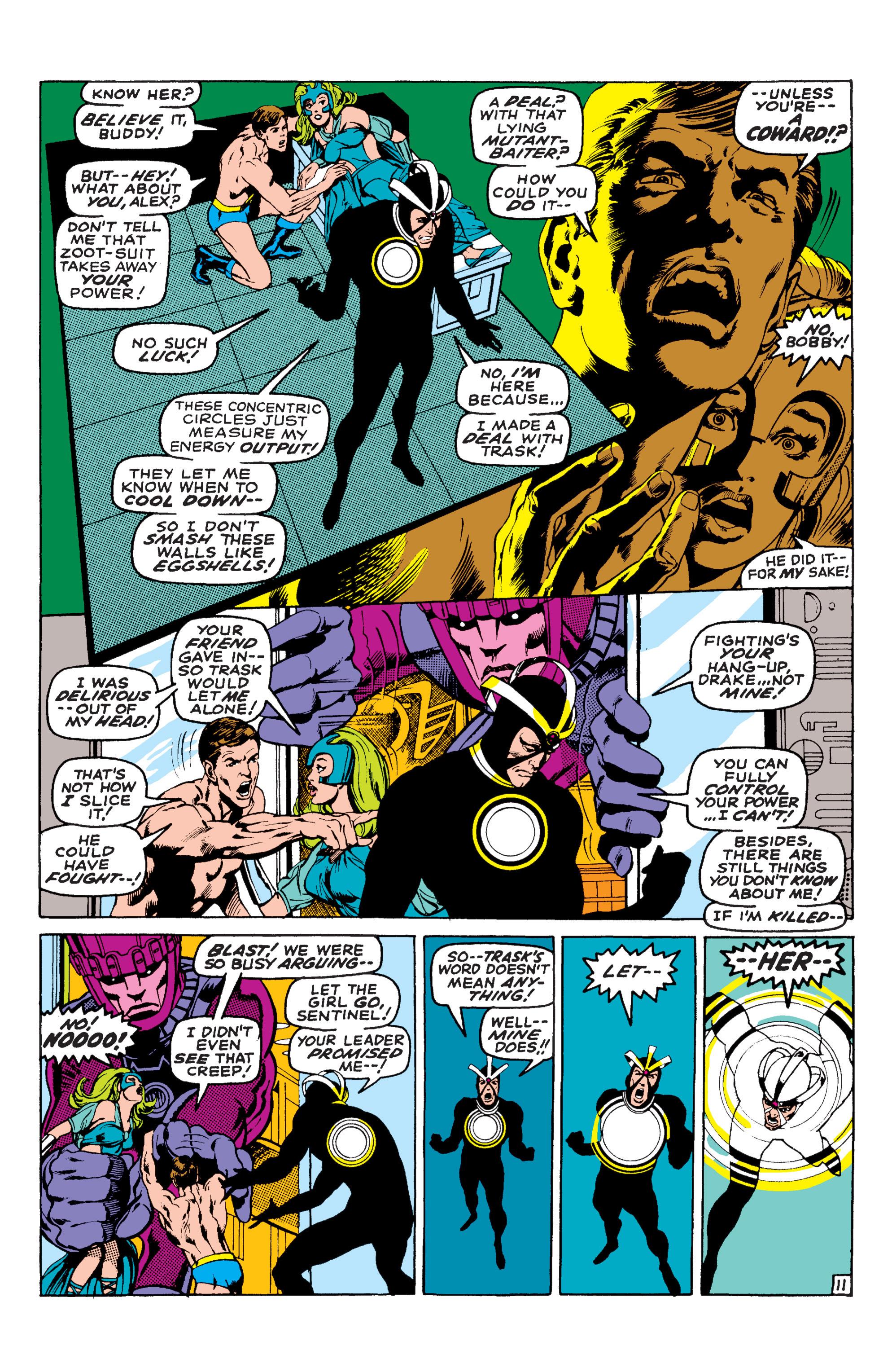 Read online Uncanny X-Men (1963) comic -  Issue #58 - 11