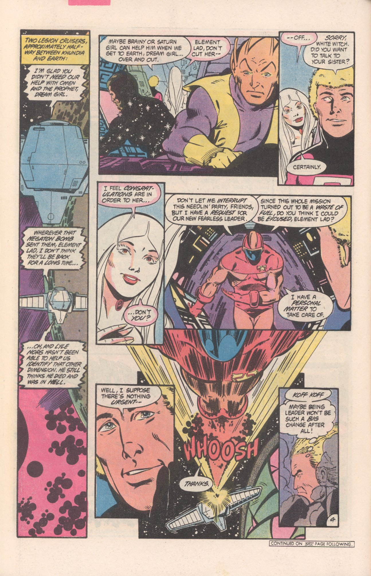 Legion of Super-Heroes (1980) 311 Page 4
