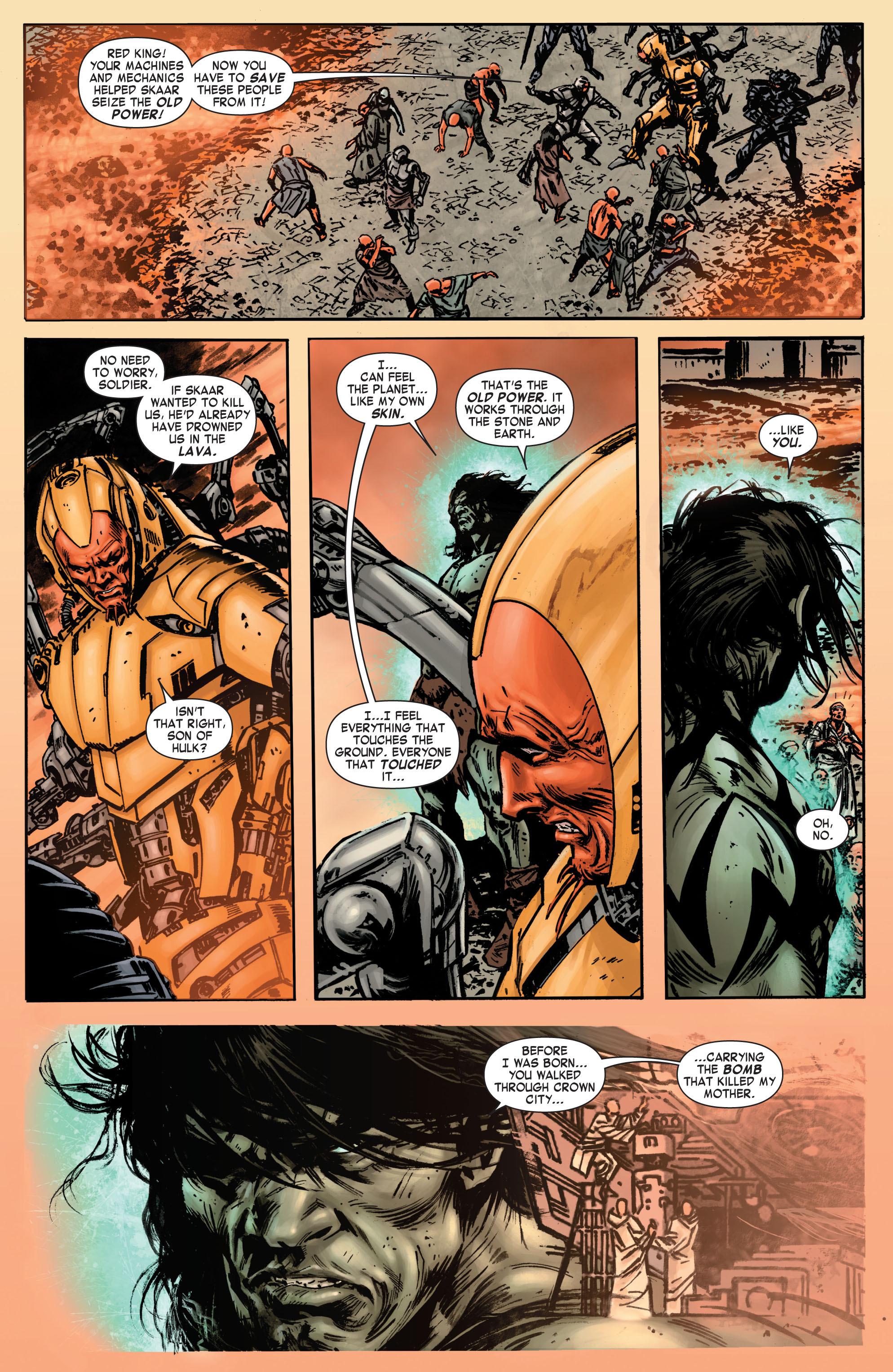 Read online Skaar: Son of Hulk comic -  Issue #7 - 7