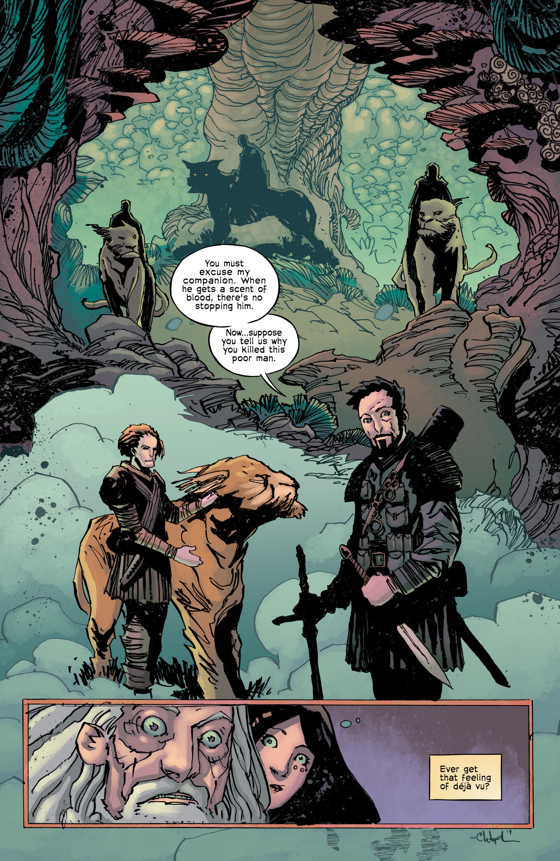Read online Umbral comic -  Issue #8 - 24