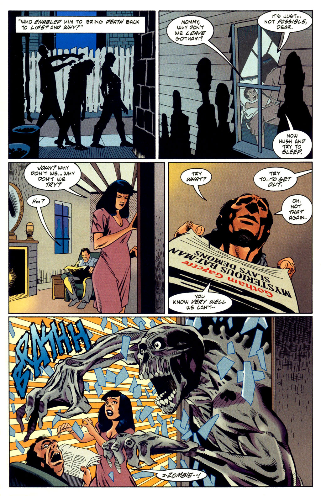 Read online Batman: Haunted Gotham comic -  Issue #2 - 9