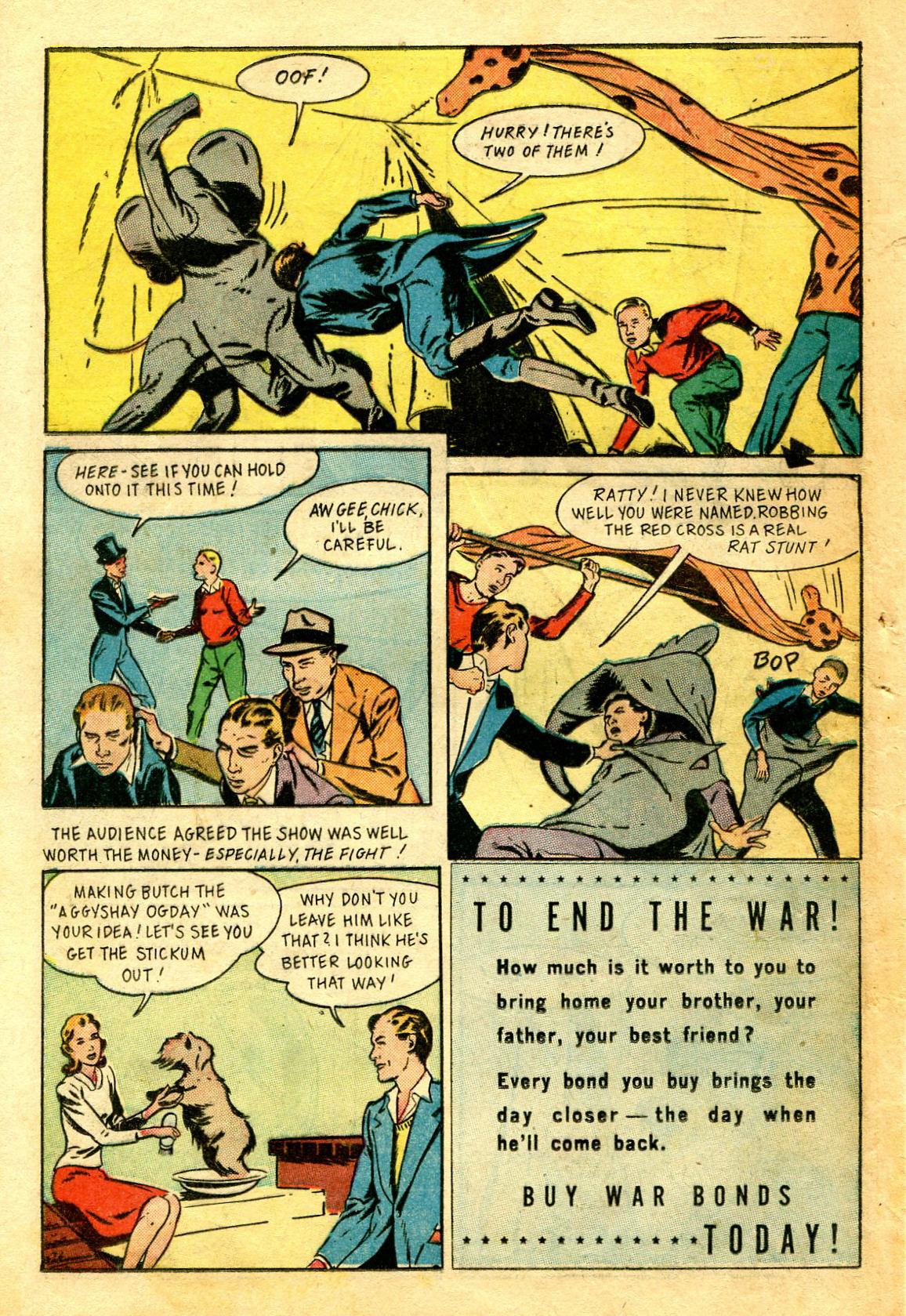 Read online Shadow Comics comic -  Issue #43 - 42