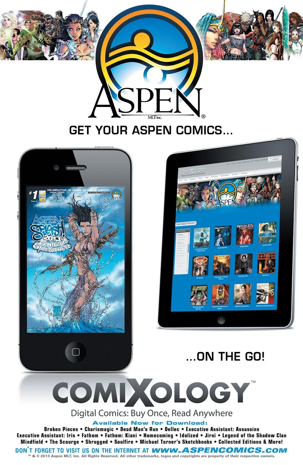 Read online Aspen Splash: Swimsuit Spectacular comic -  Issue # Issue 2013 - 34