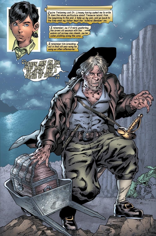 Read online Treasure Island comic -  Issue #1 - 2