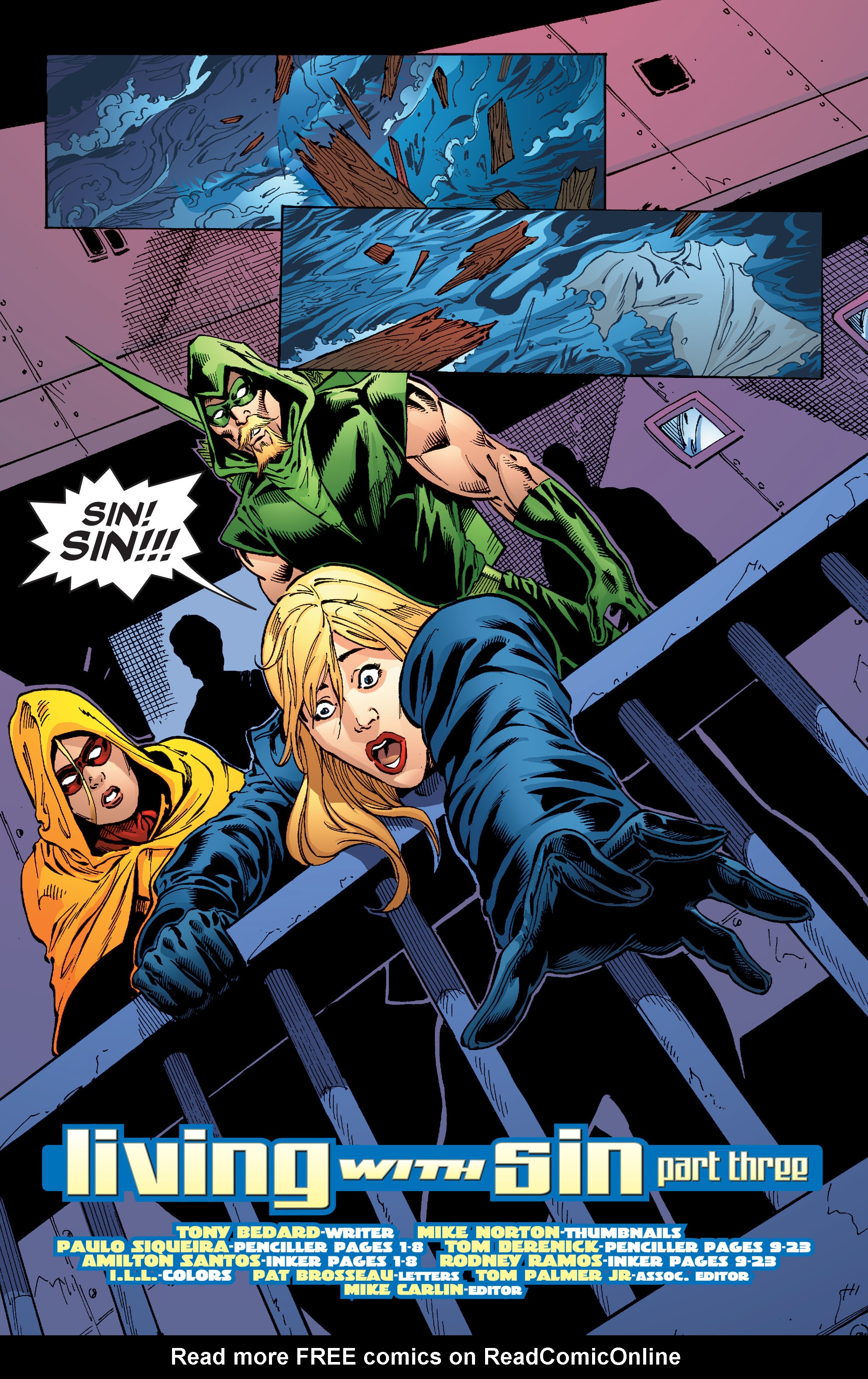 Read online Black Canary (2007) comic -  Issue #3 - 24
