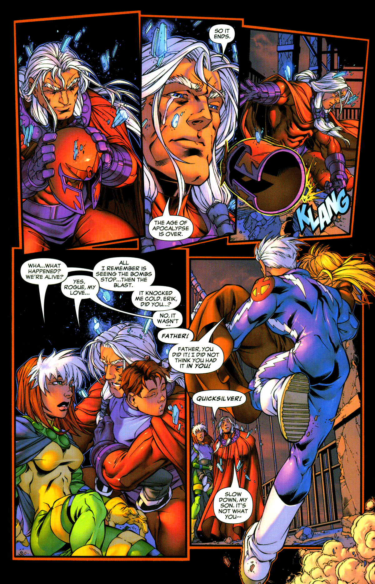 Read online X-Men: Age of Apocalypse One-Shot comic -  Issue # Full - 30