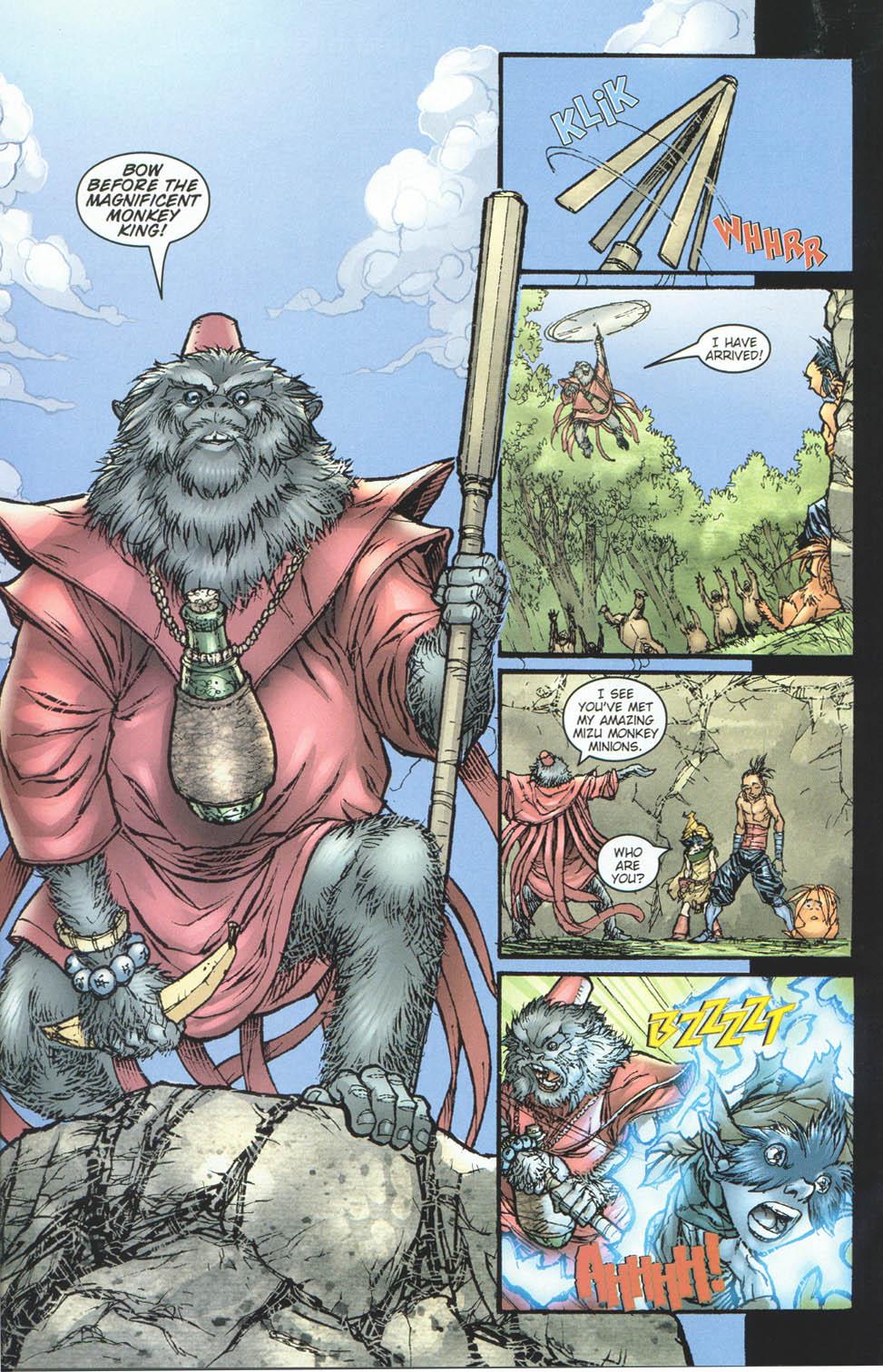 Read online Ninja Boy comic -  Issue #5 - 19