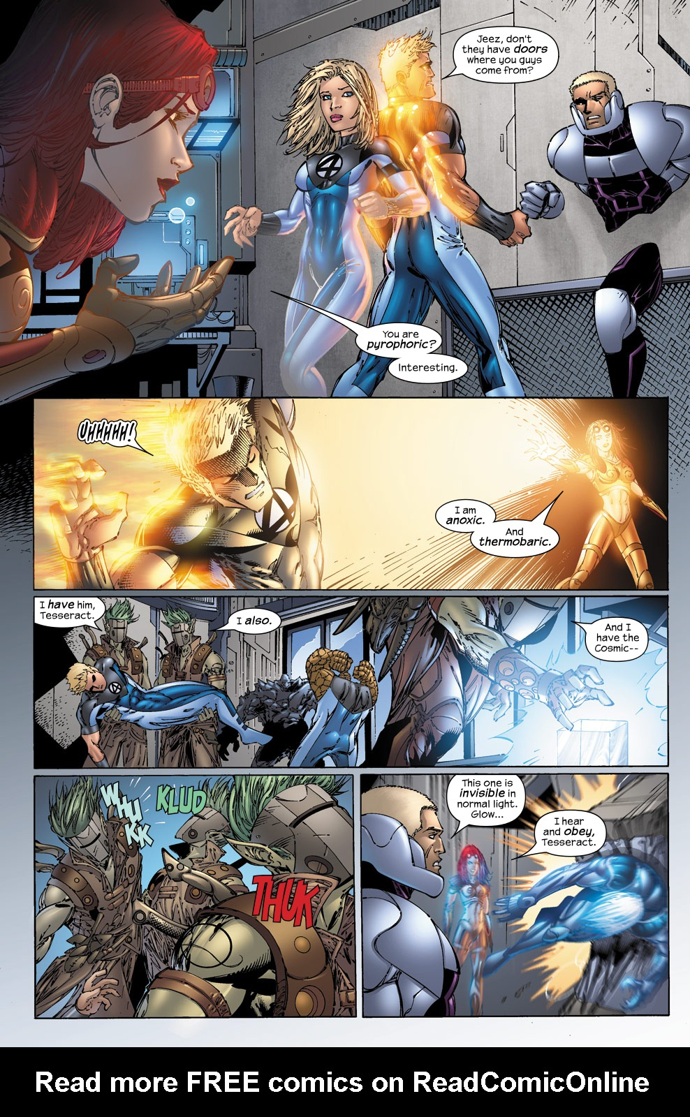 Read online Ultimate Fantastic Four (2004) comic -  Issue #50 - 17