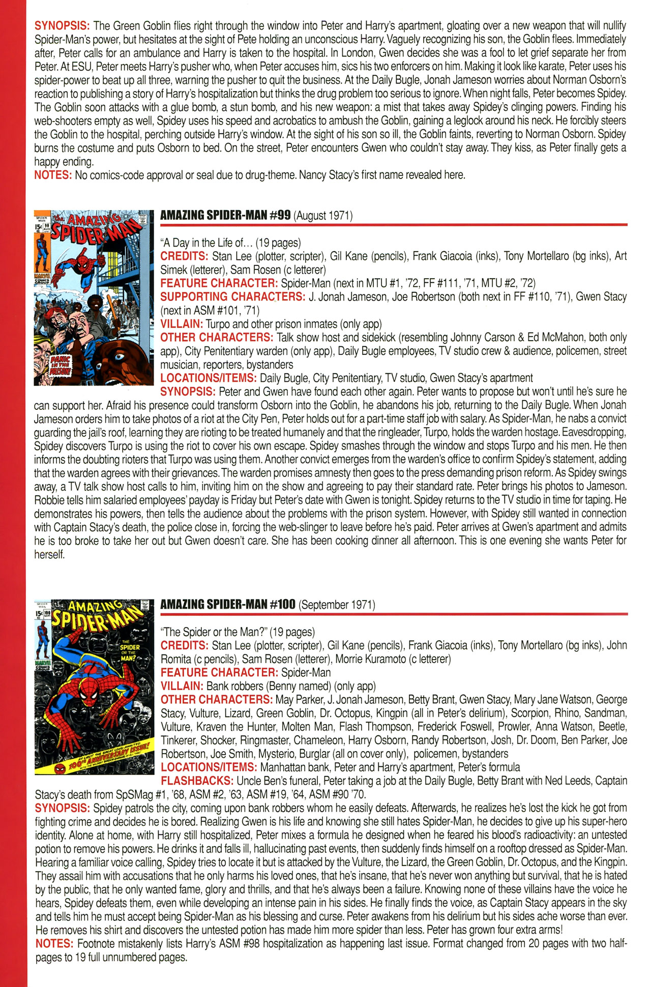 Read online Official Index to the Marvel Universe comic -  Issue #2 - 22