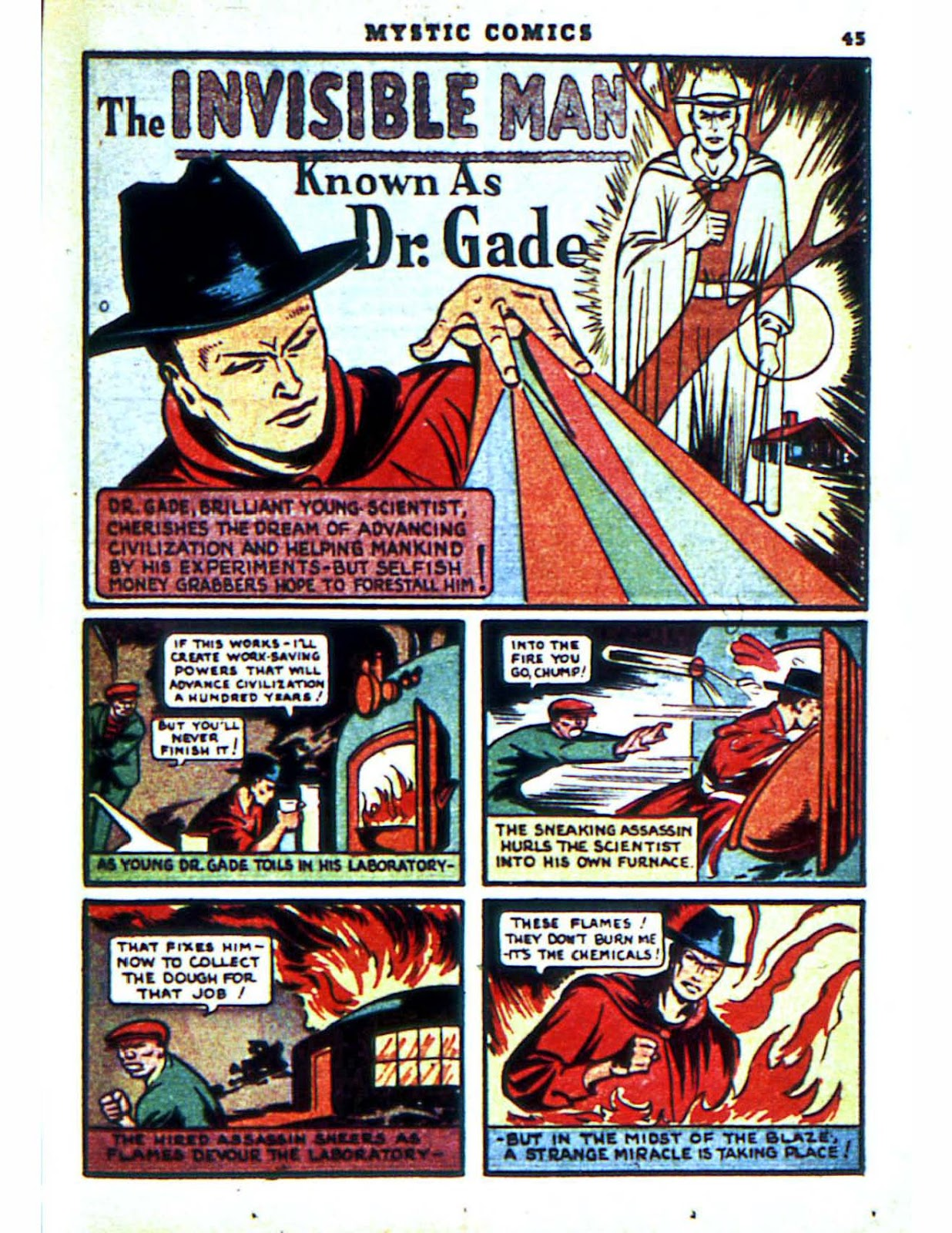 Mystic Comics (1940) issue 2 - Page 47