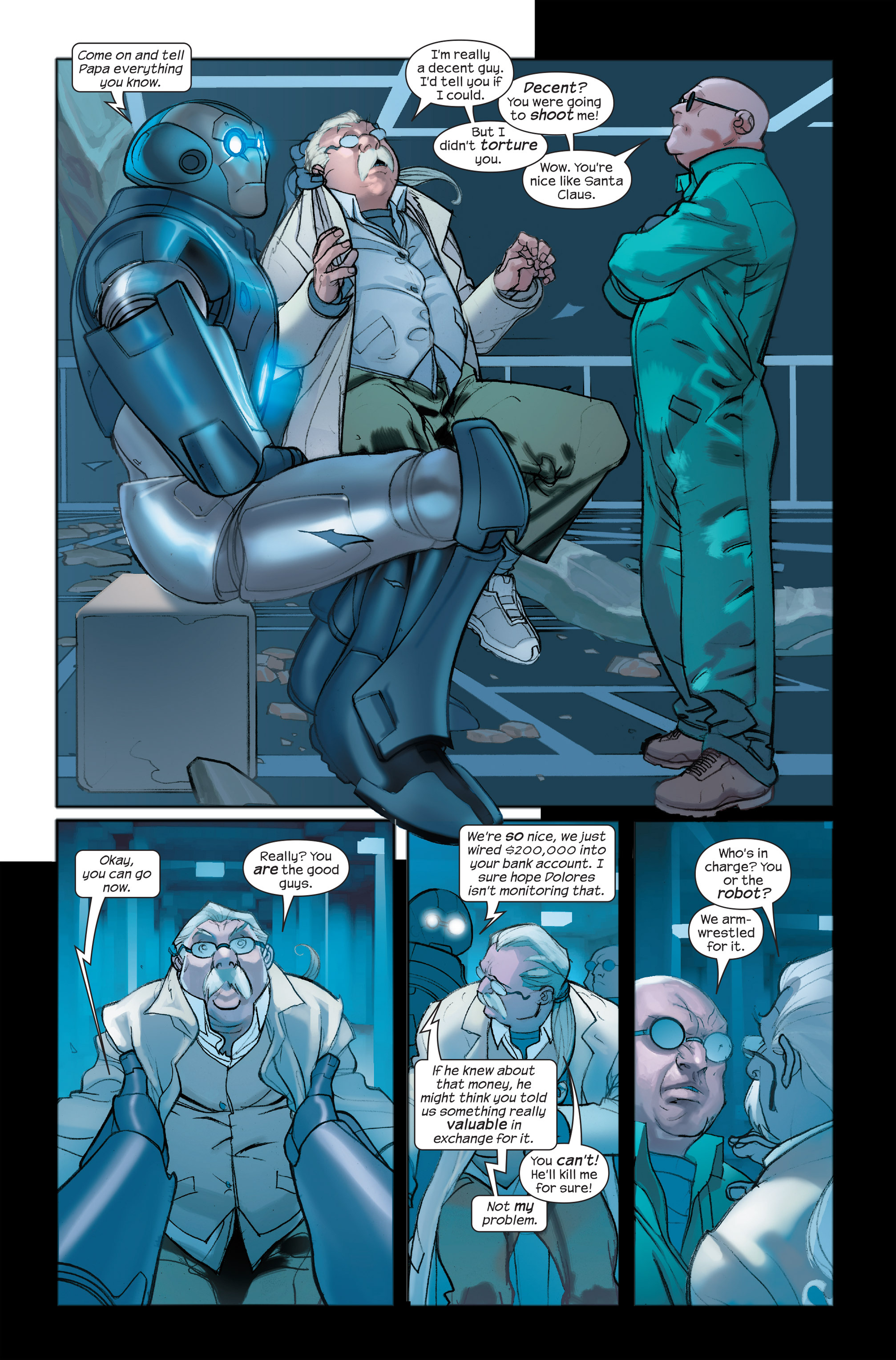 Read online Ultimate Iron Man II comic -  Issue #4 - 6