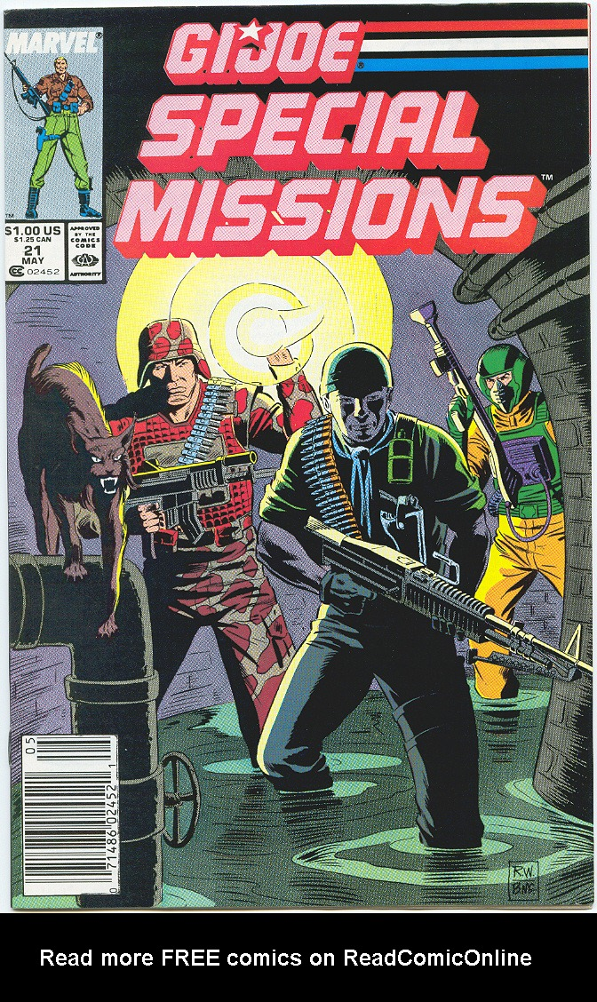 G.I. Joe Special Missions 21 Page 1