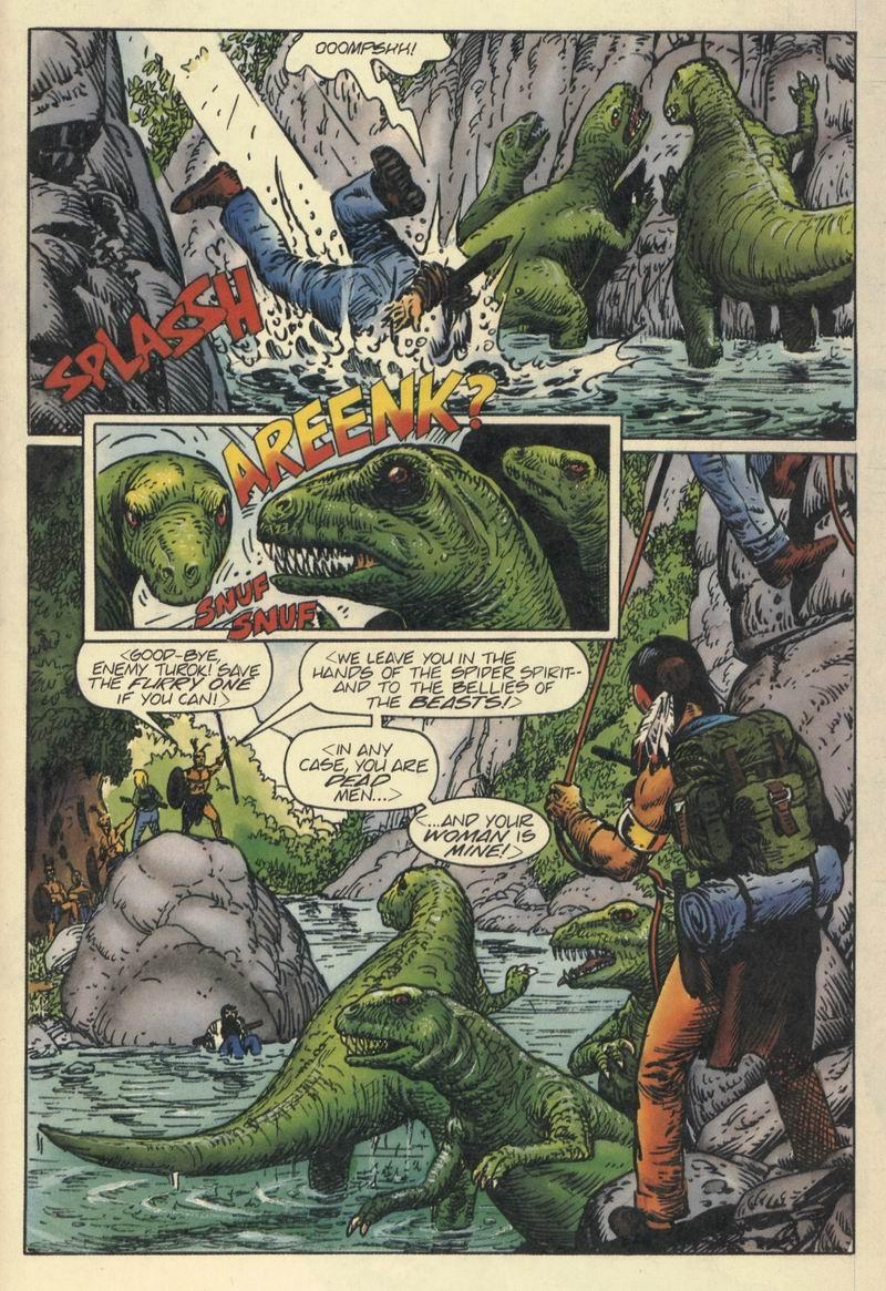 Read online Turok, Dinosaur Hunter (1993) comic -  Issue #8 - 7